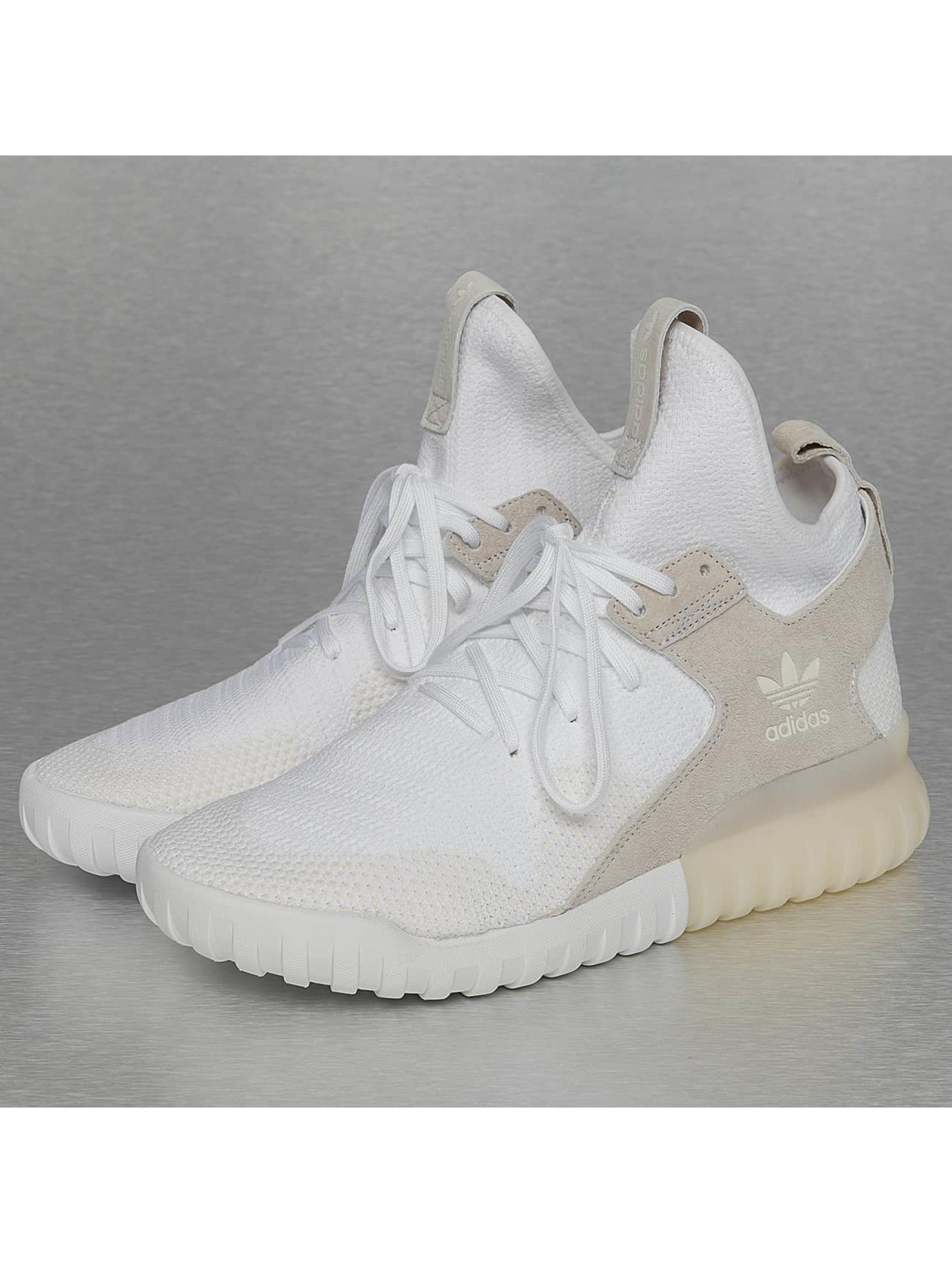 Sneaker Tubular X Primeknit in weiß