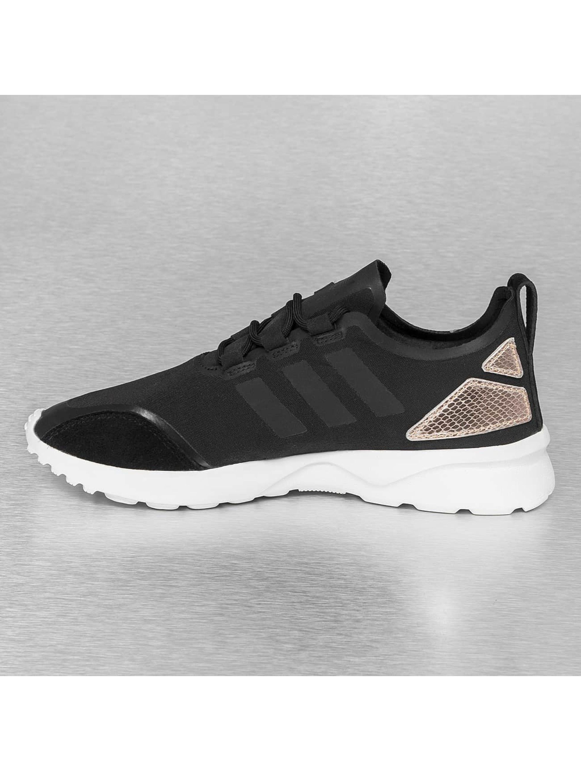 the latest 7ff19 7bcc4 new style adidas zx flux black copper kopen b4d24 eaf5b