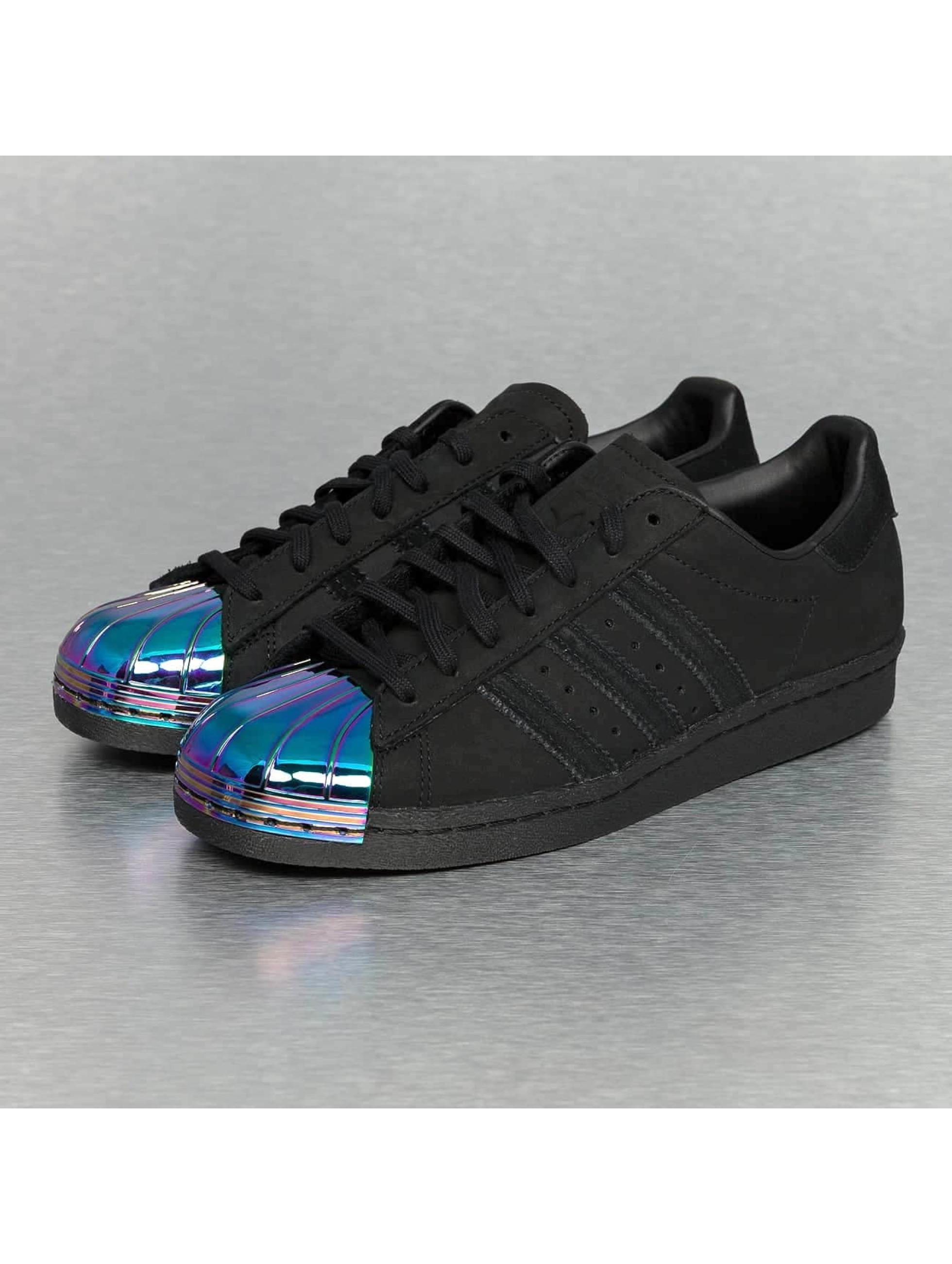 adidas superstar zwart glimmend