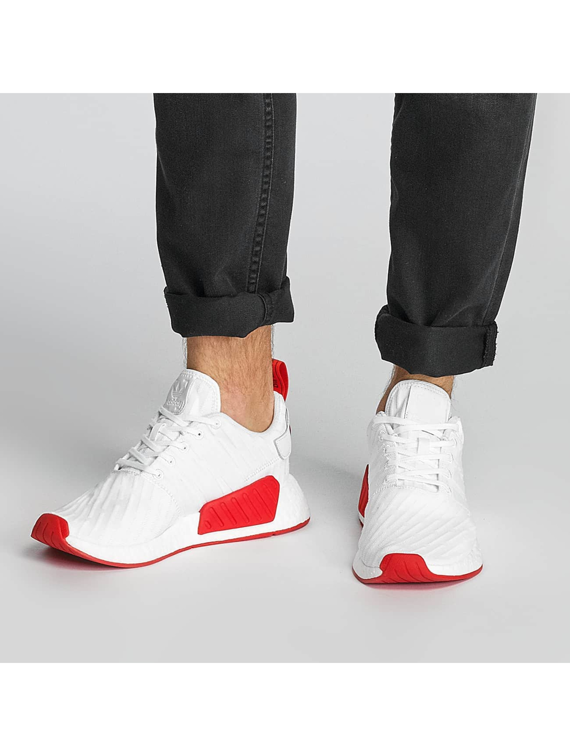 adidas Sneakers NMD_R2 Primeknit hvid