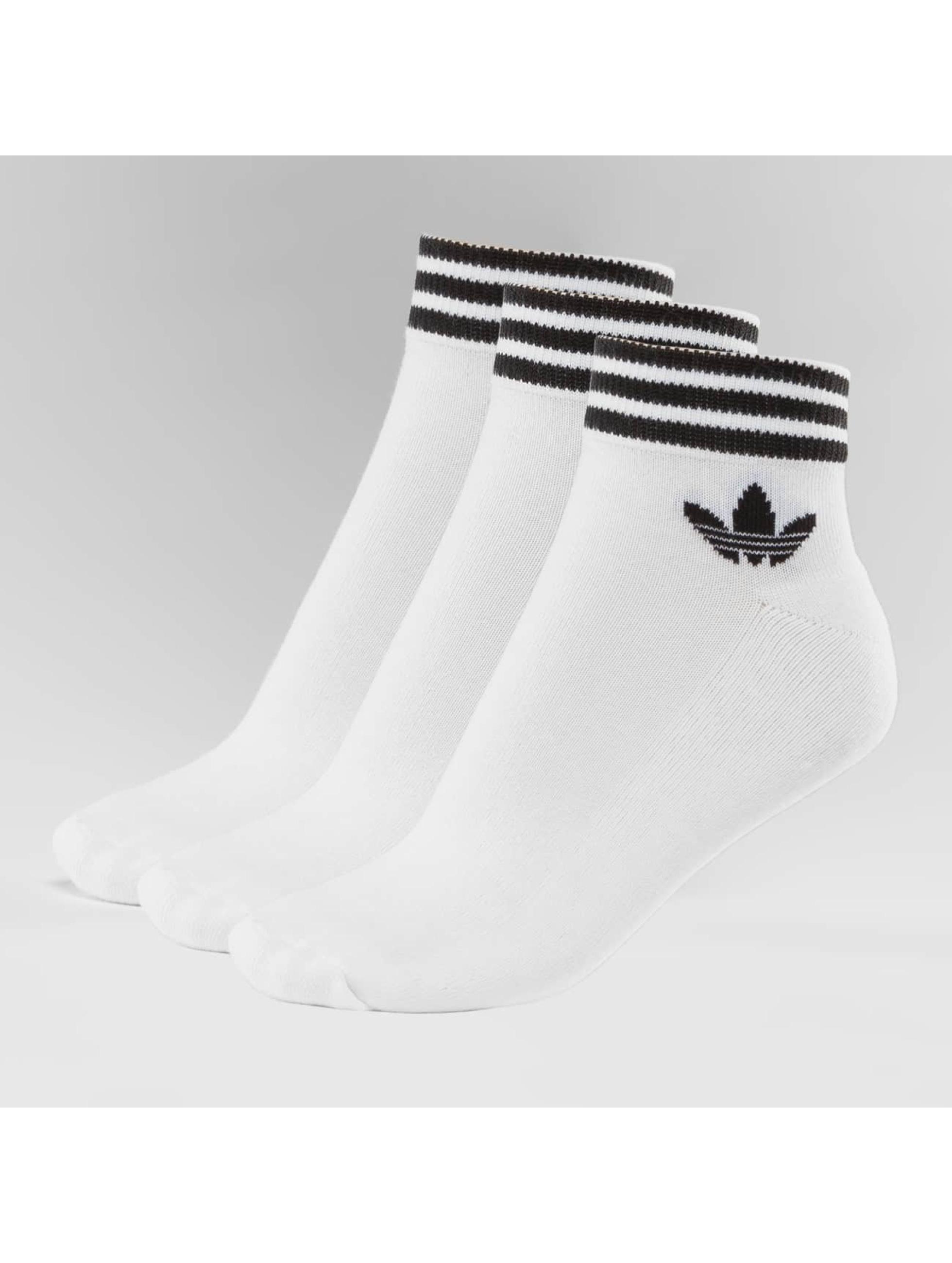 adidas Sokker Trefoil hvit