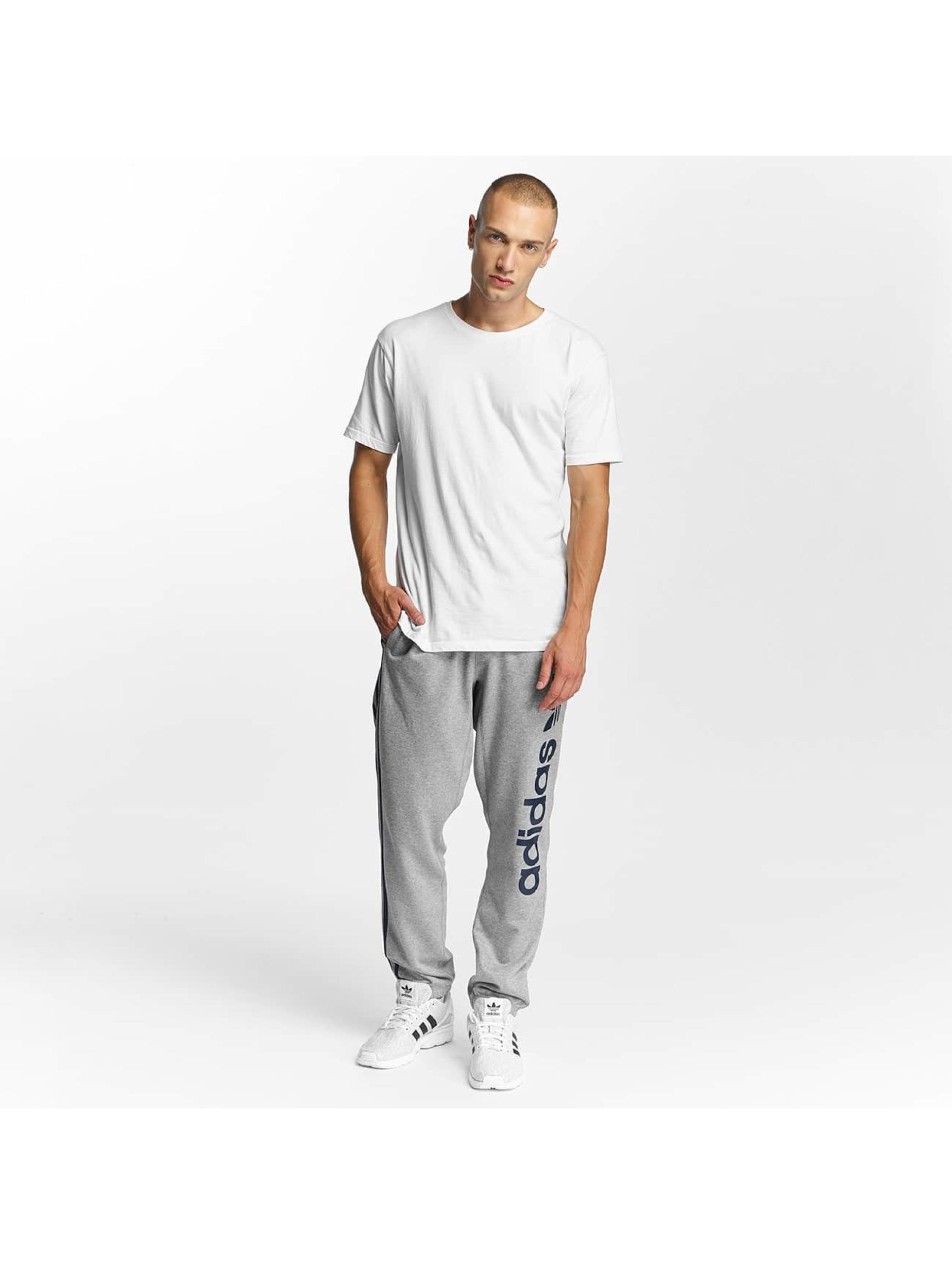 adidas Spodnie do joggingu BB szary