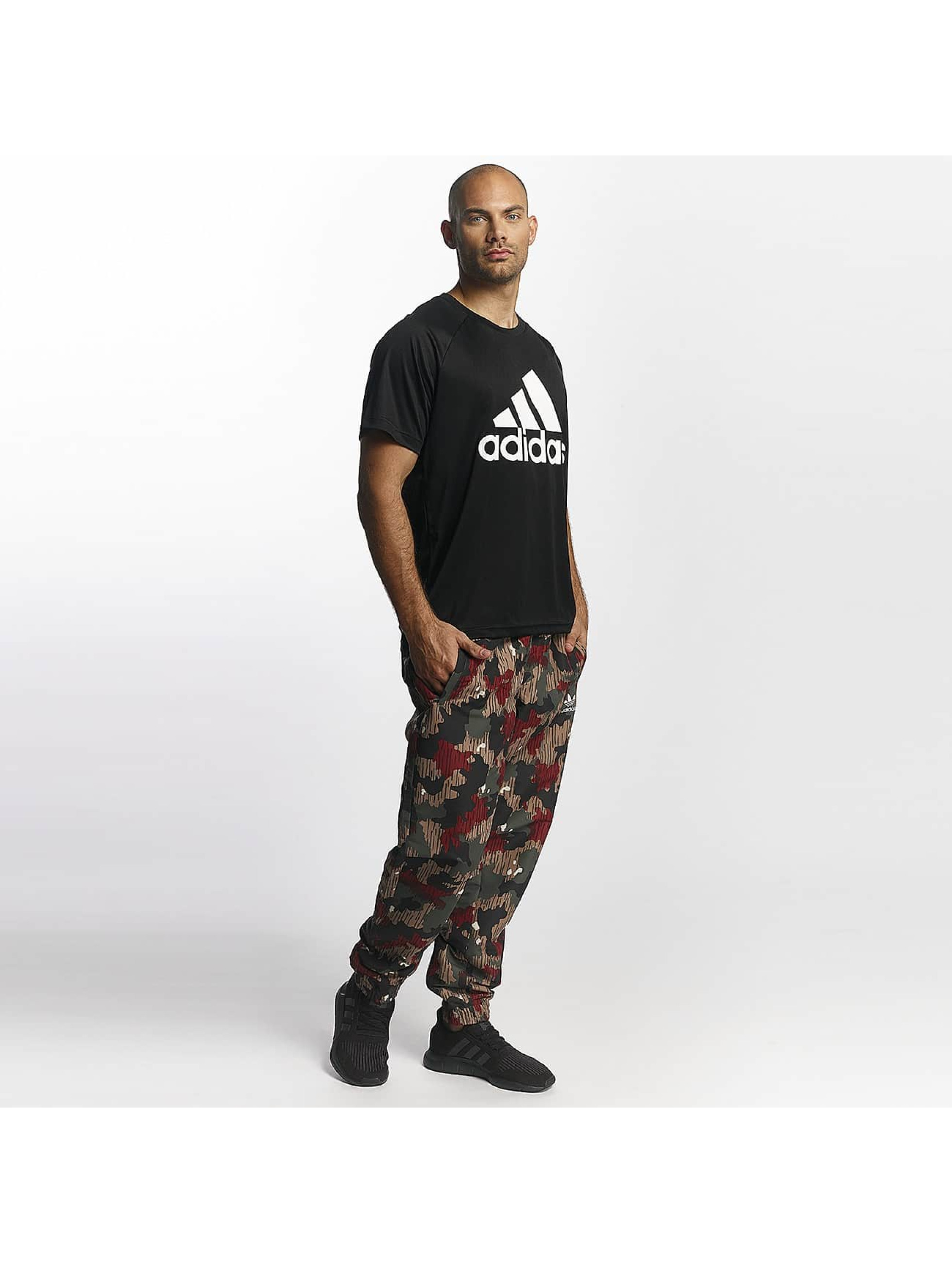 adidas Stoffbukser PW HU Hiking Windpants kamuflasje