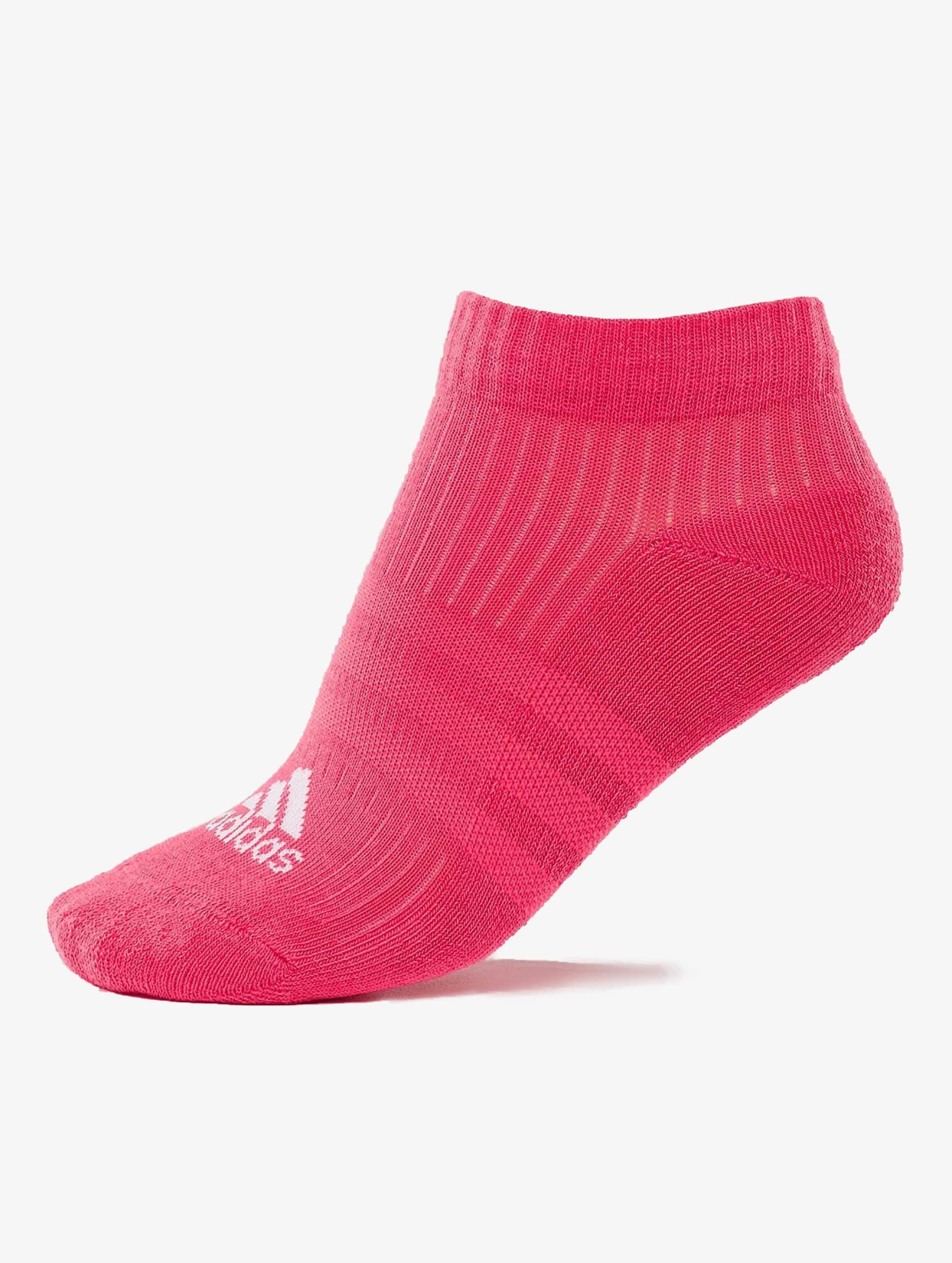 adidas Strumpor 3-Stripes Per n-s HS 3-Pairs rosa