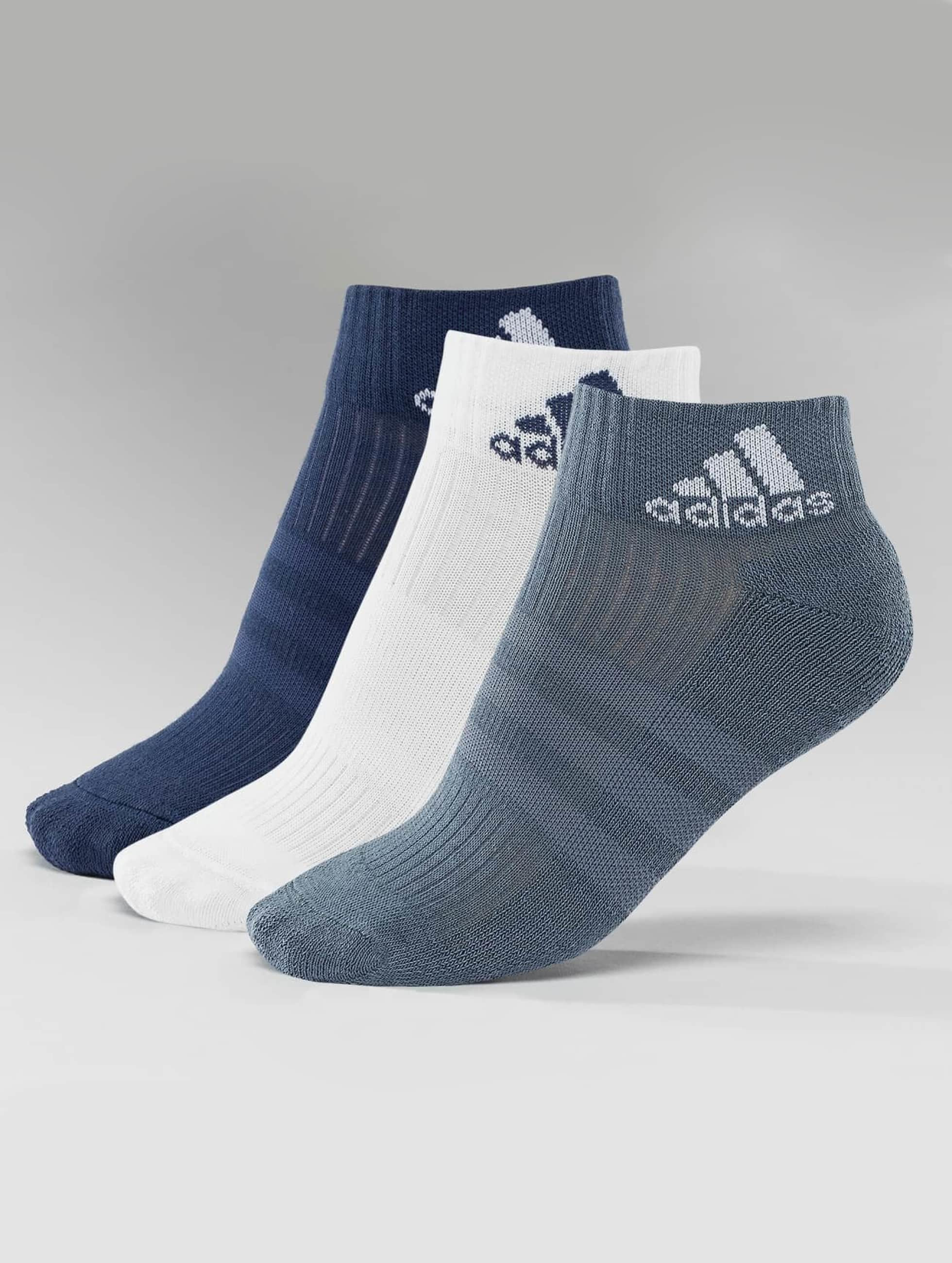 adidas Sukat 3-Stripes Per An HC 3-Pairs sininen