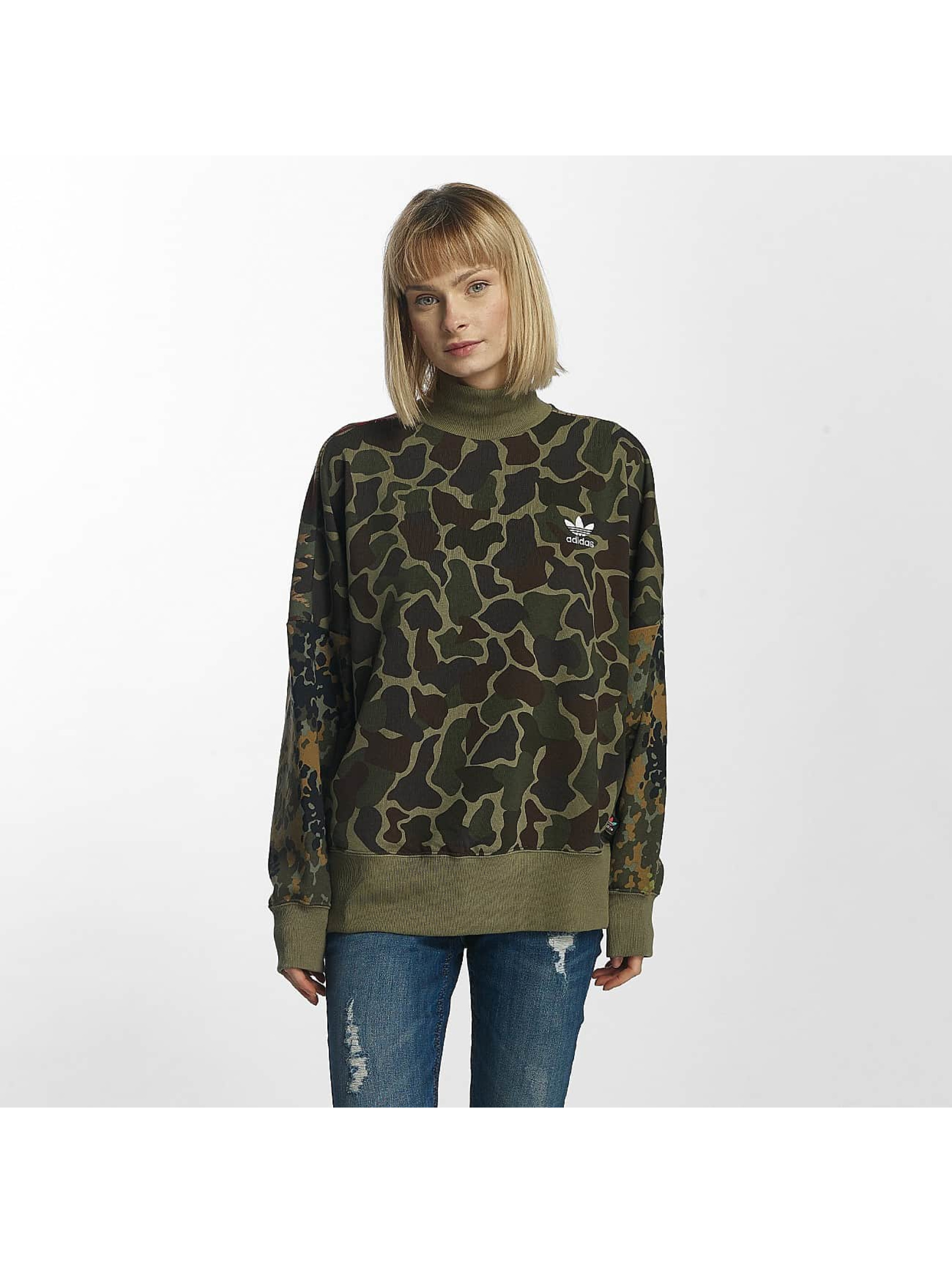 adidas pw hu hikingg camouflage femme sweat pull adidas acheter pas cher haut 369419. Black Bedroom Furniture Sets. Home Design Ideas