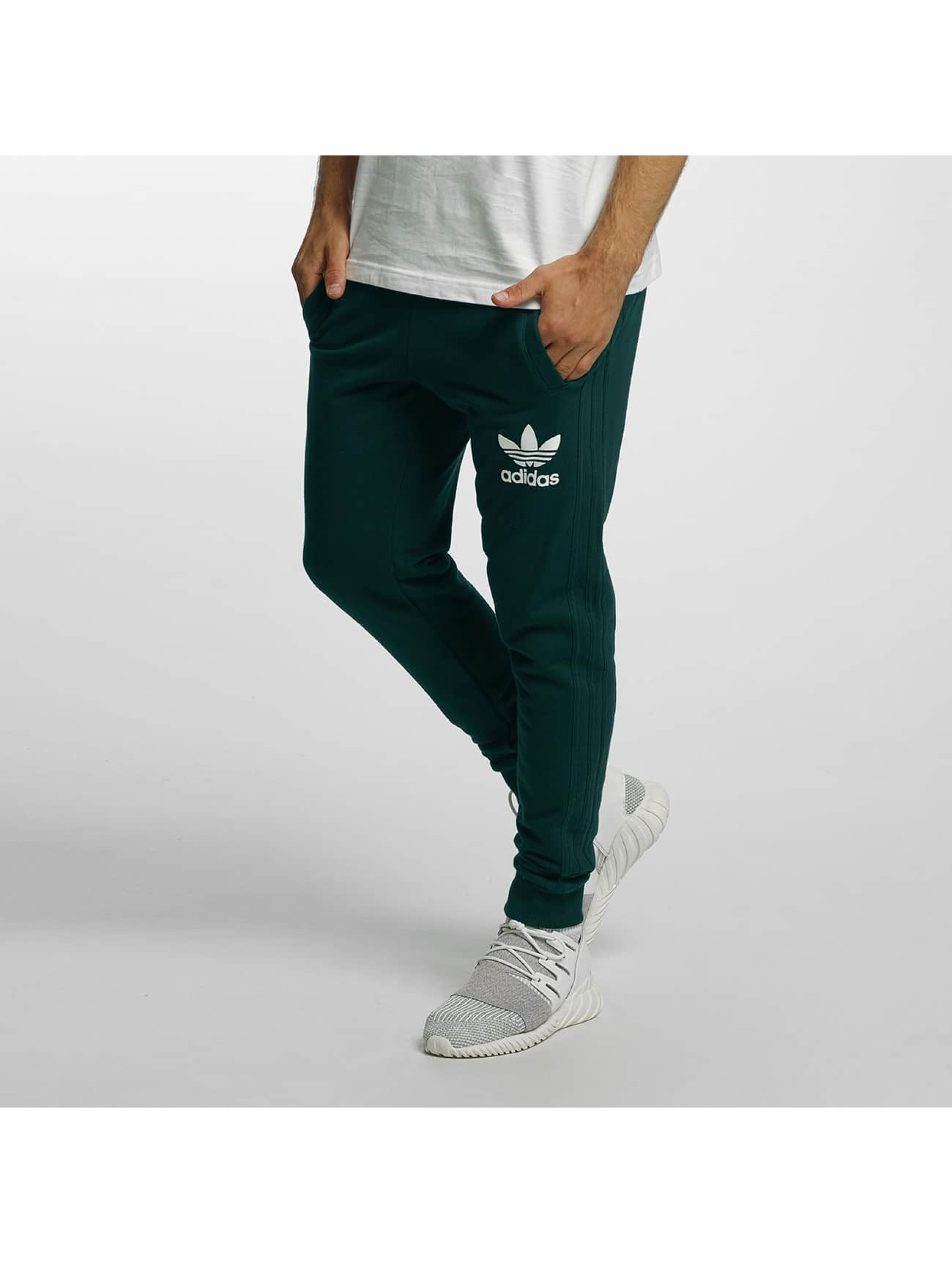 adidas Sweat Pant 3 Striped green