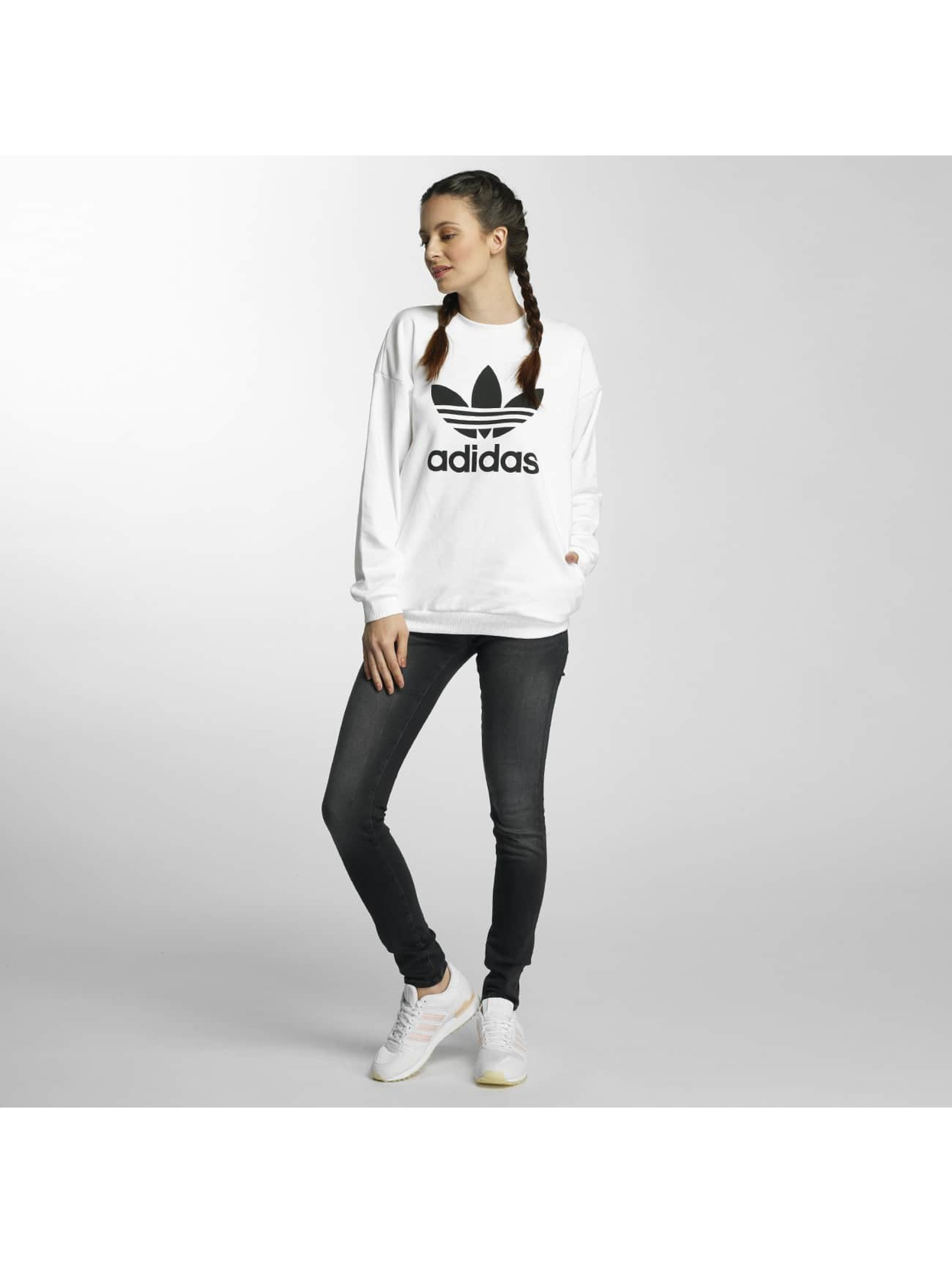 adidas Swetry Trefoil bialy