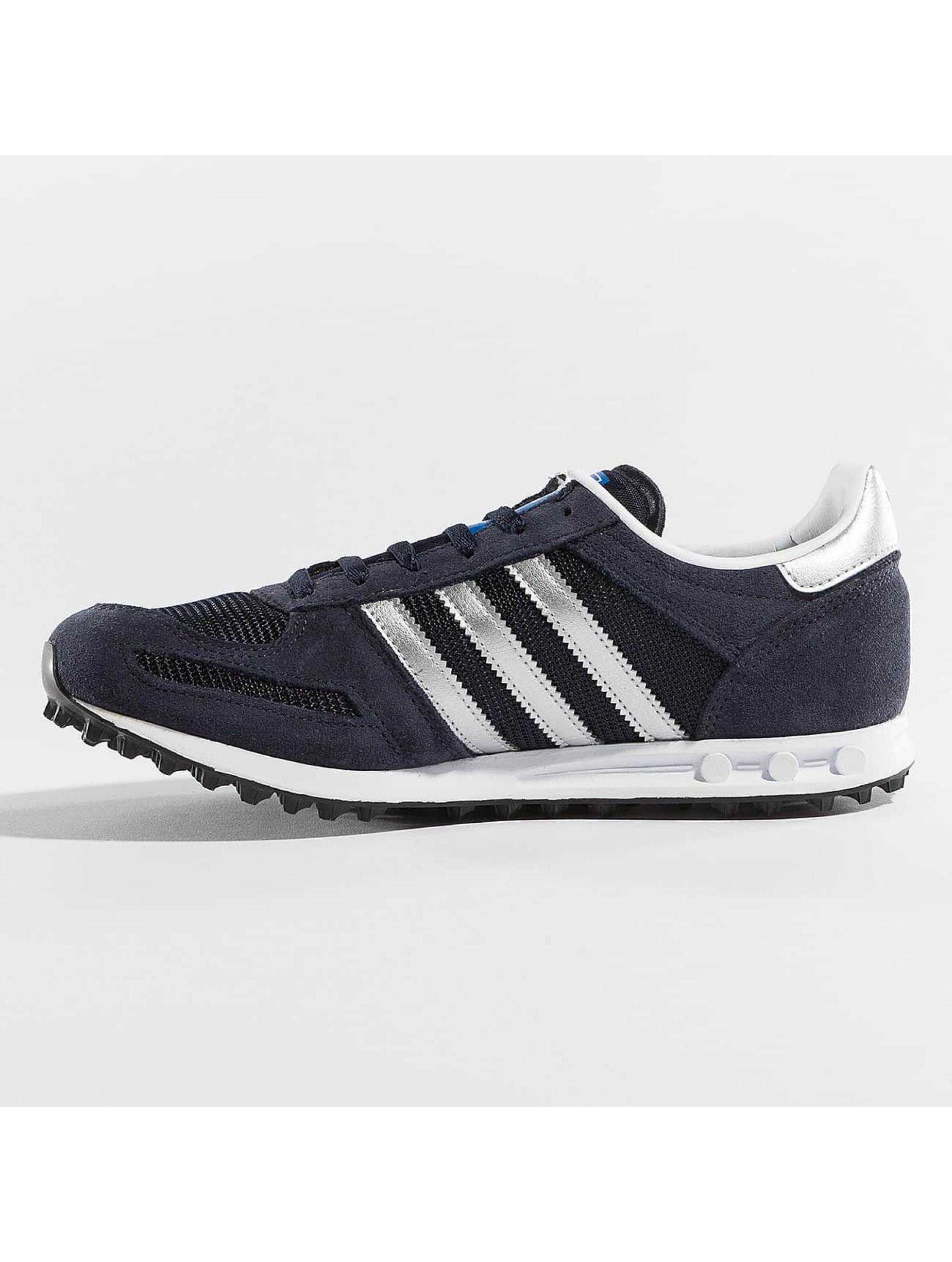 adidas Tøysko LA Trainer J blå