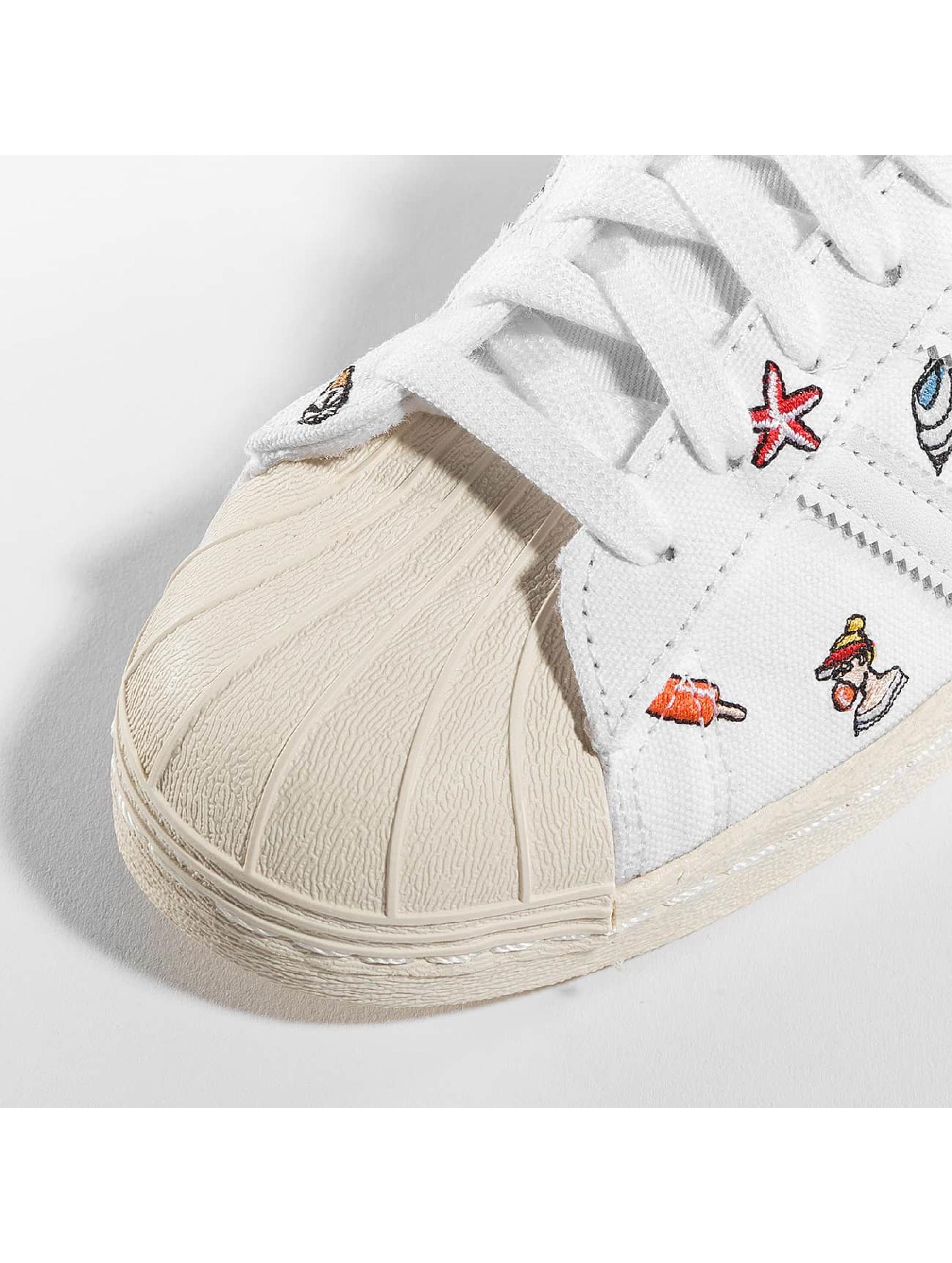 adidas Tøysko Superstar 80s W S hvit