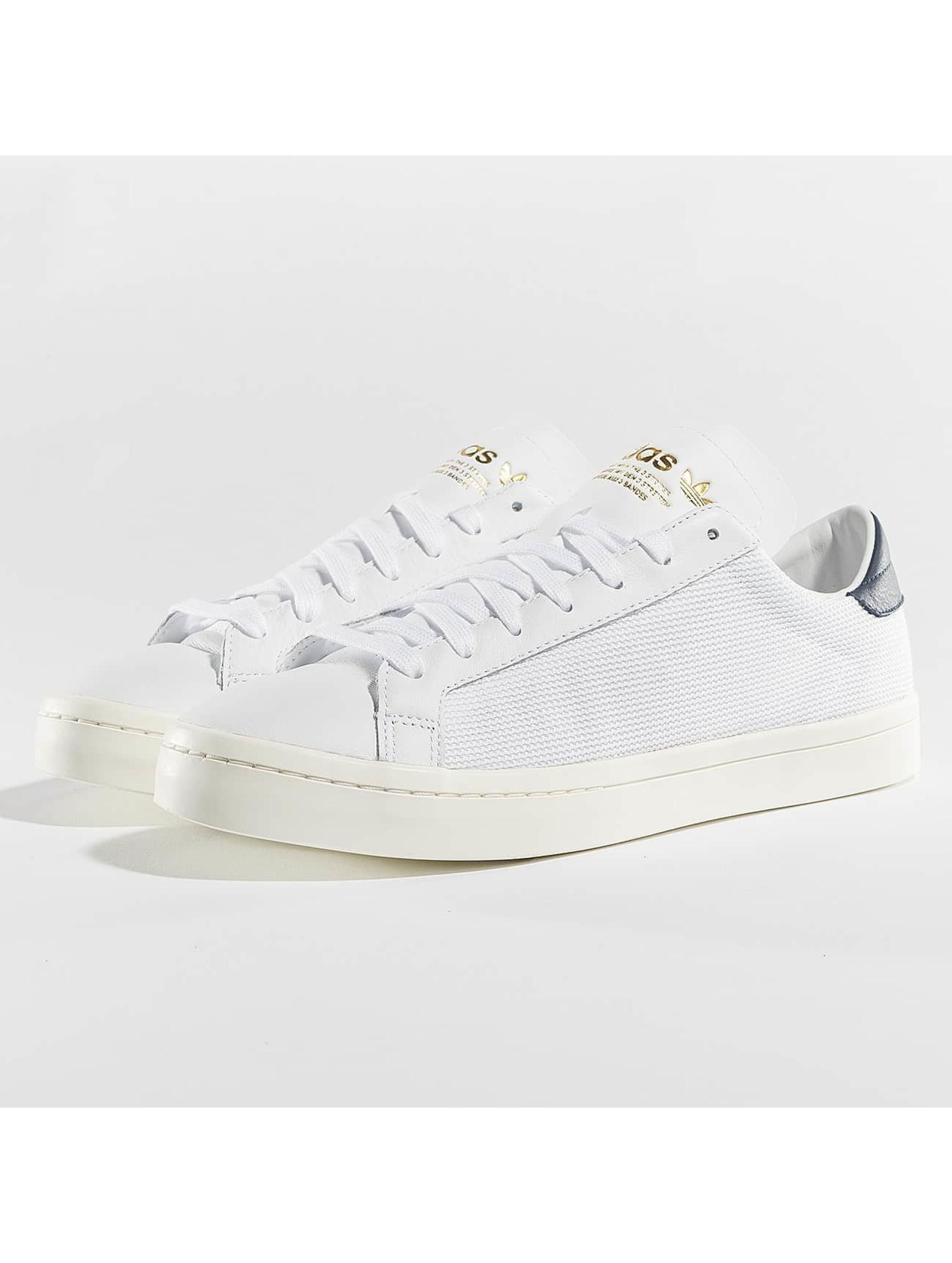 adidas Tøysko Courtvantage hvit