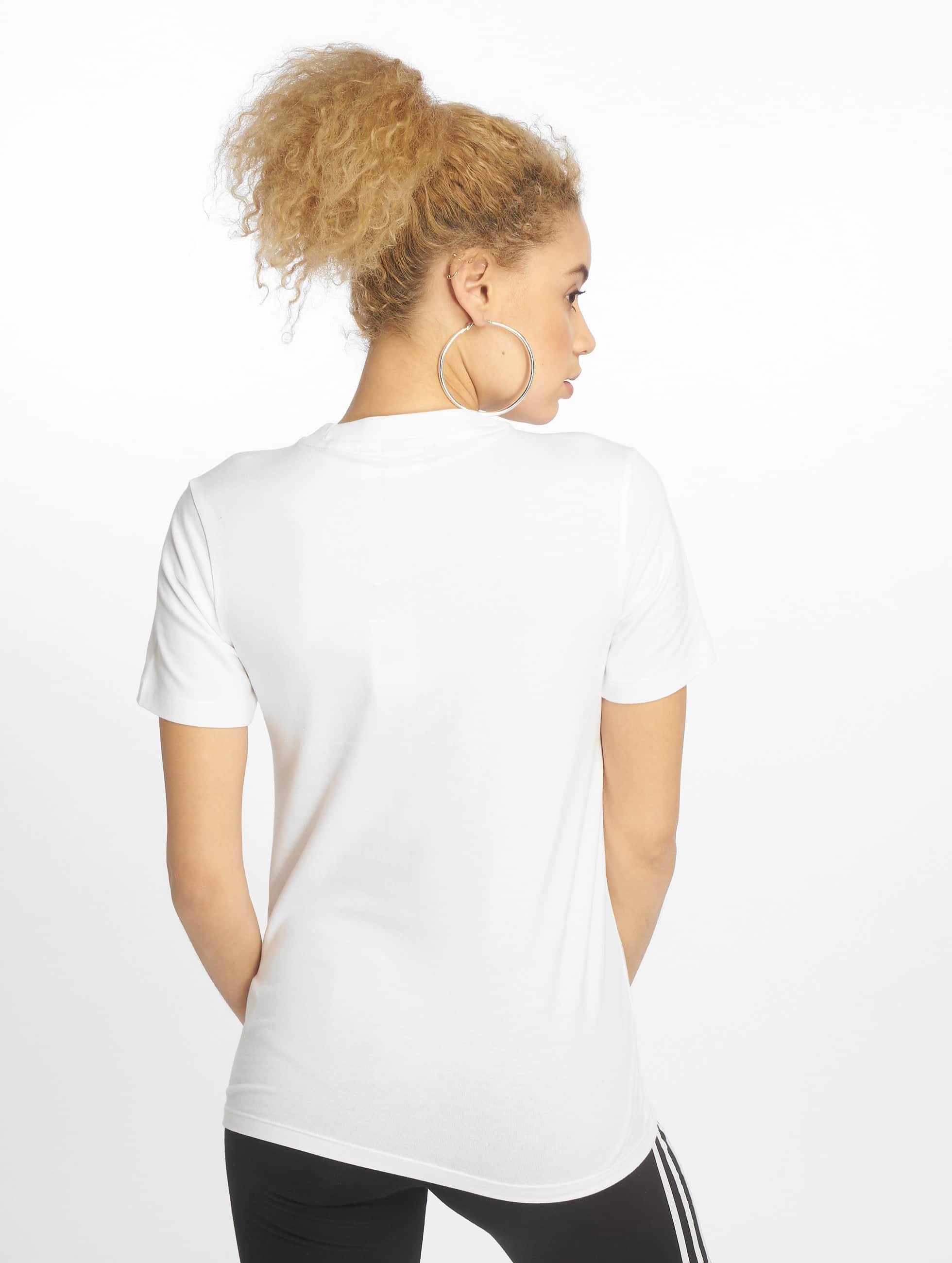 adidas T-paidat Trefoil valkoinen