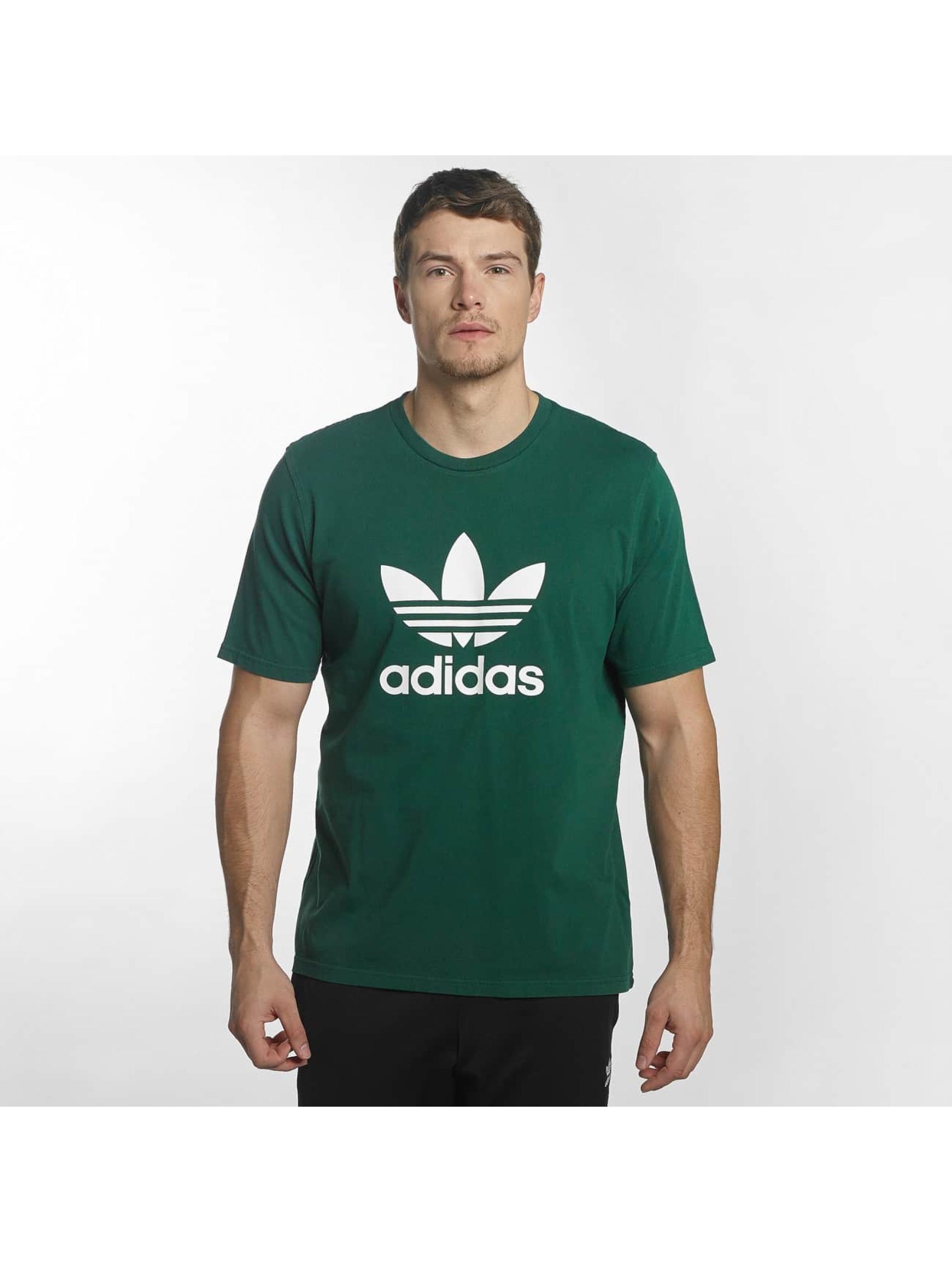 adidas t-shirt Trefoil groen