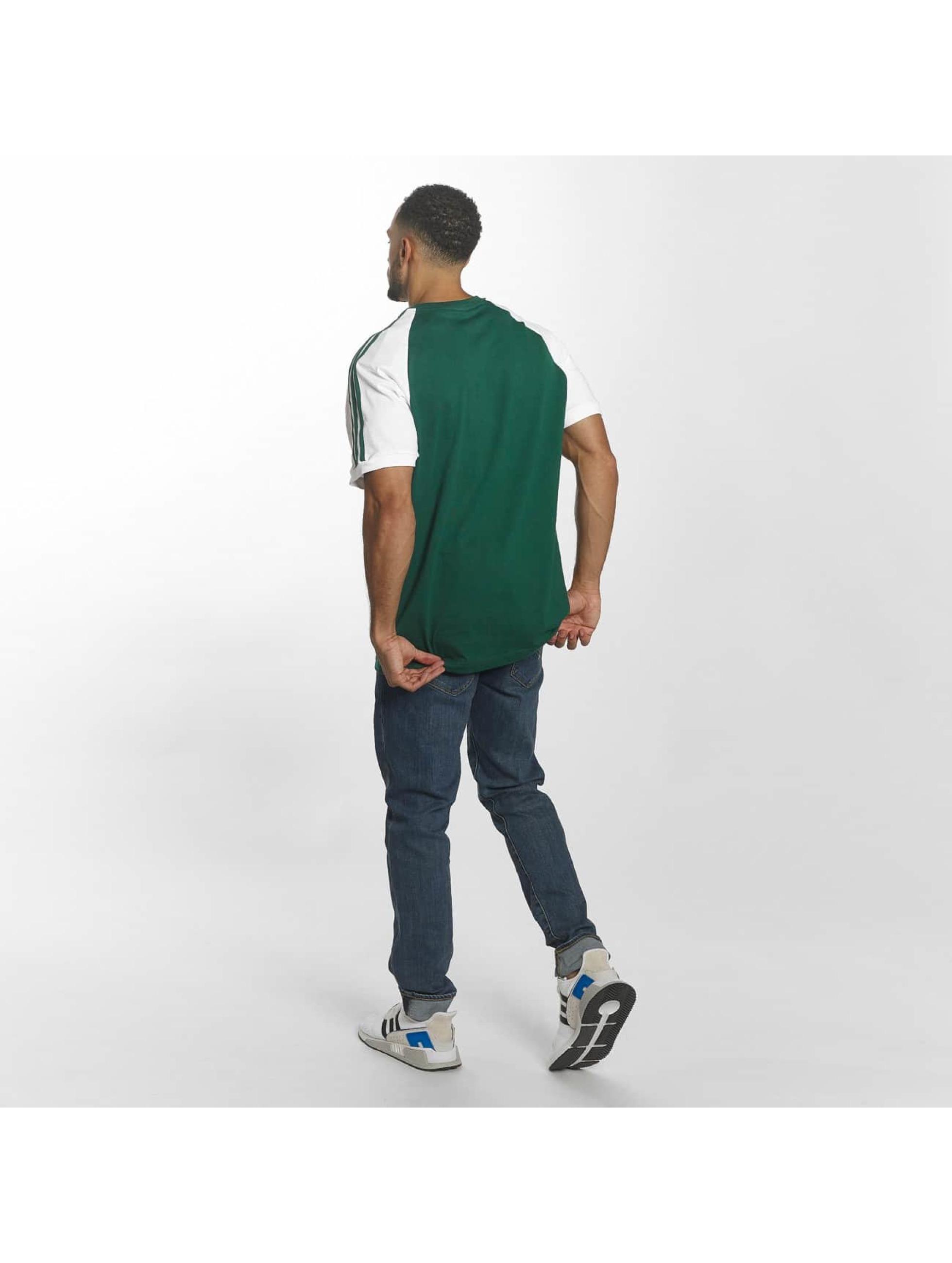 adidas t-shirt 3-Stripes groen