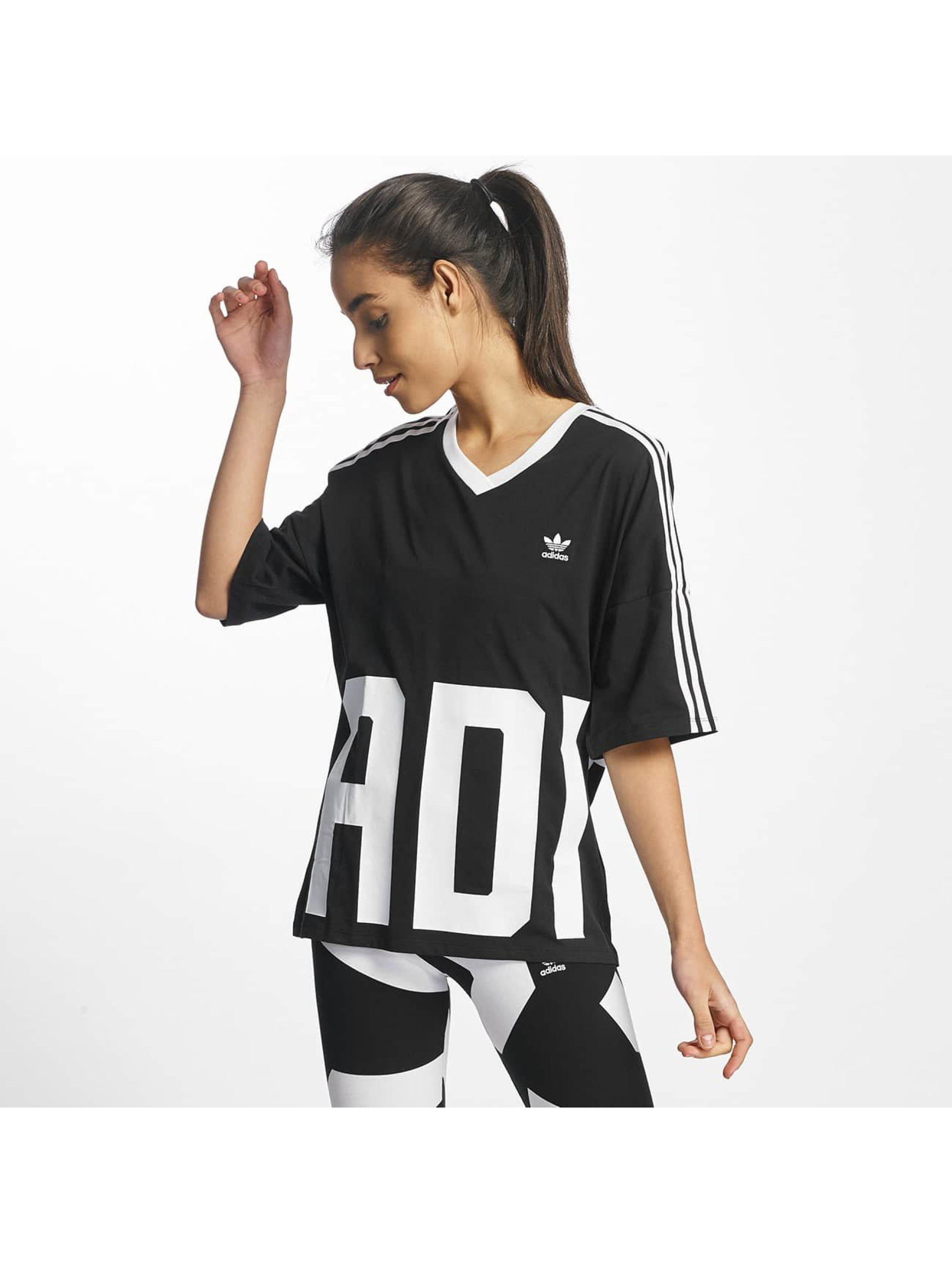 adidas v neck noir femme t shirt adidas acheter pas cher haut 369525. Black Bedroom Furniture Sets. Home Design Ideas