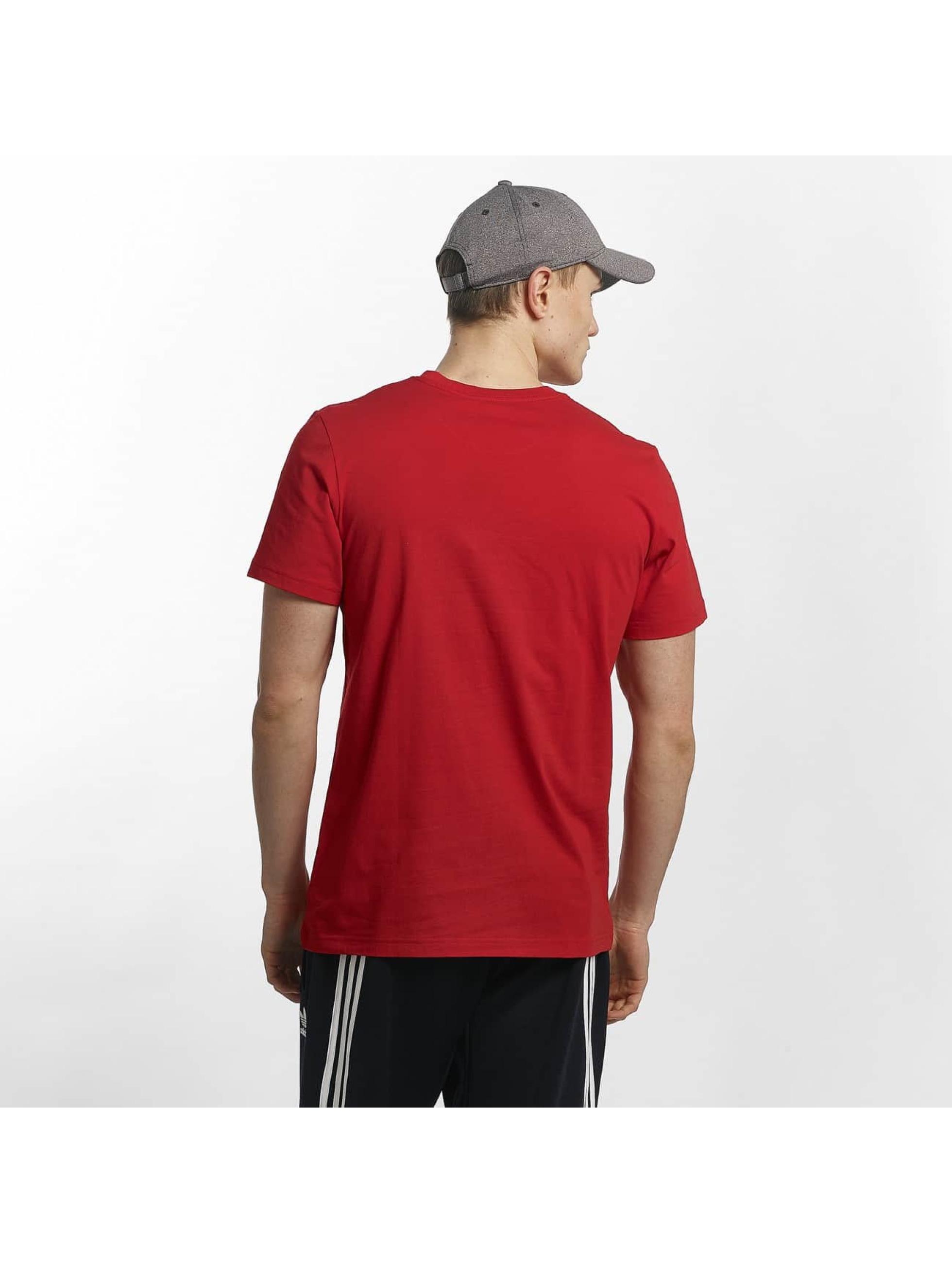 adidas T-Shirt Traction Tongue red