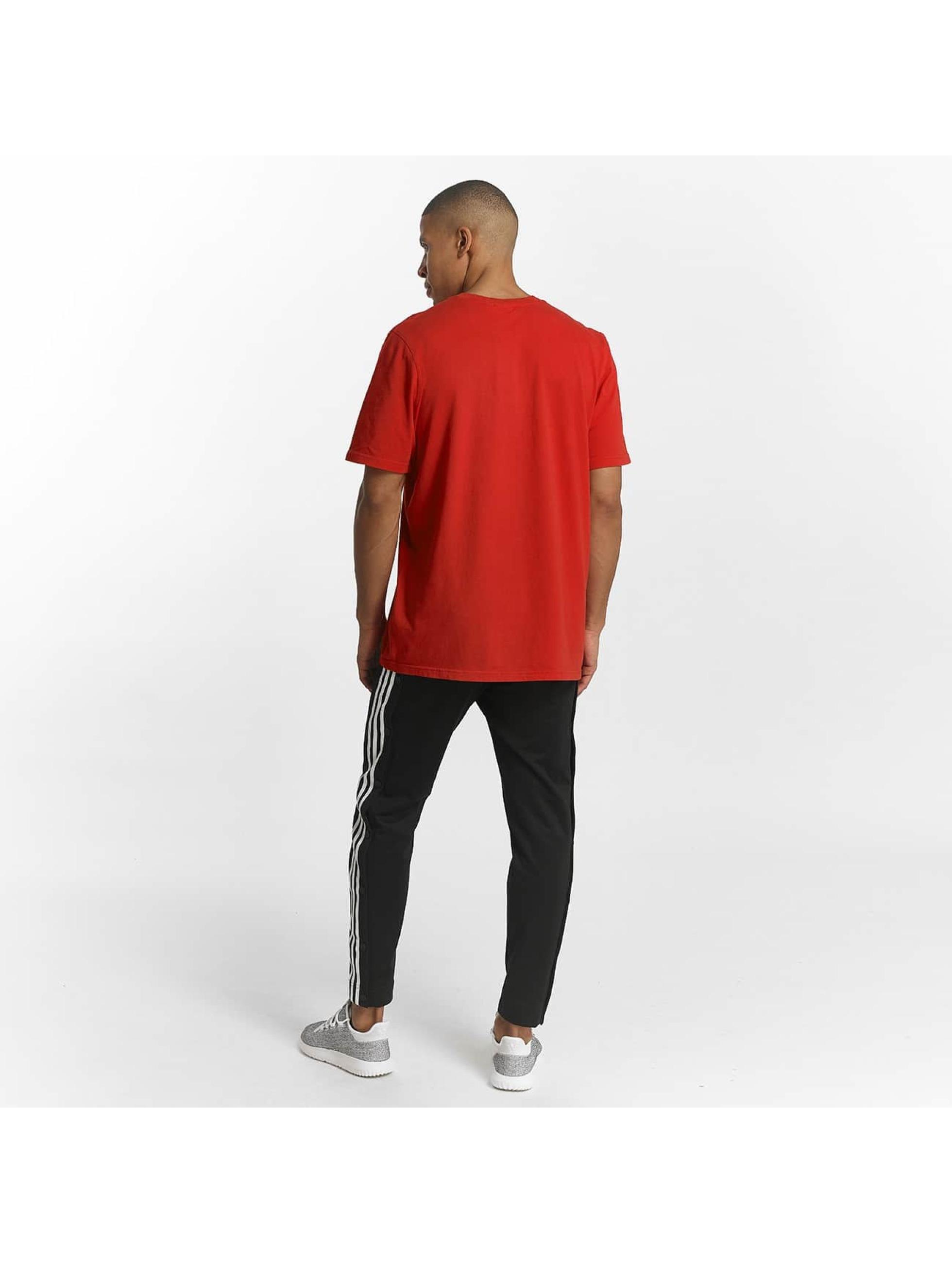 adidas T-Shirt Trefoil red
