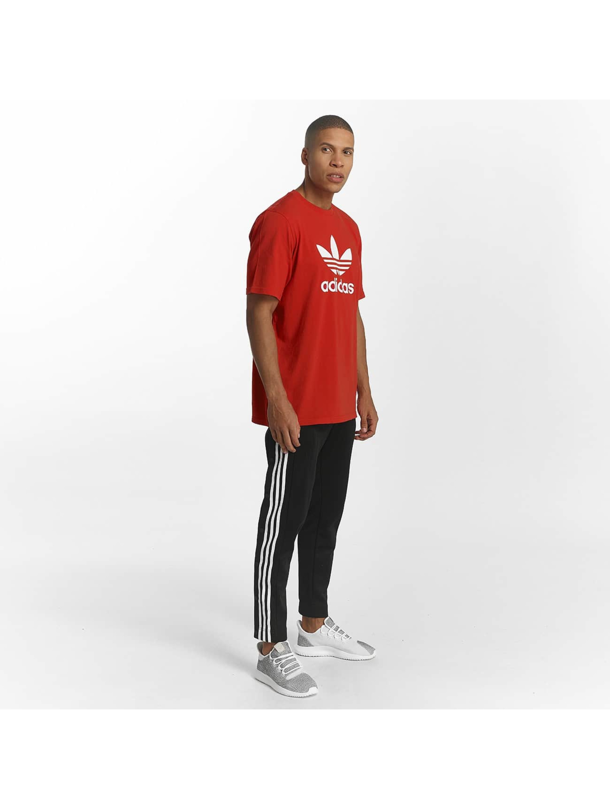 adidas T-shirt Trefoil röd