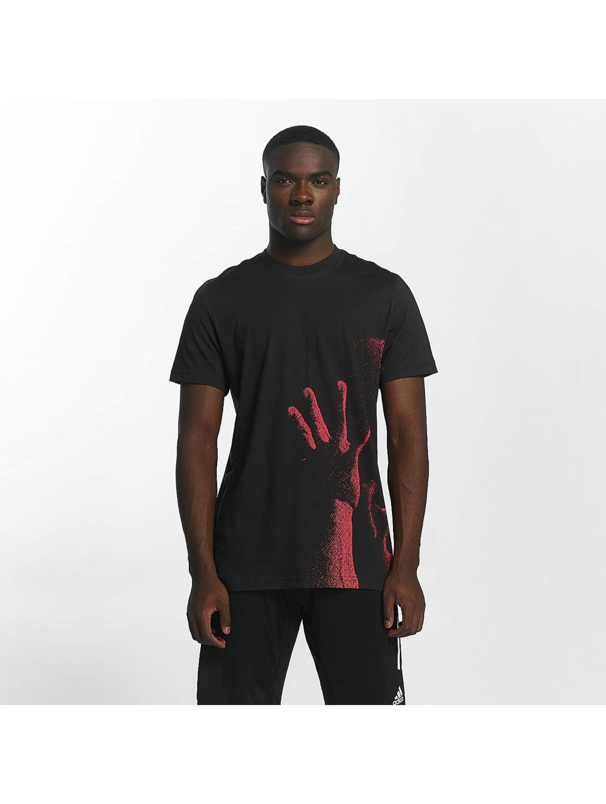 adidas T-Shirt Archive Catalog schwarz