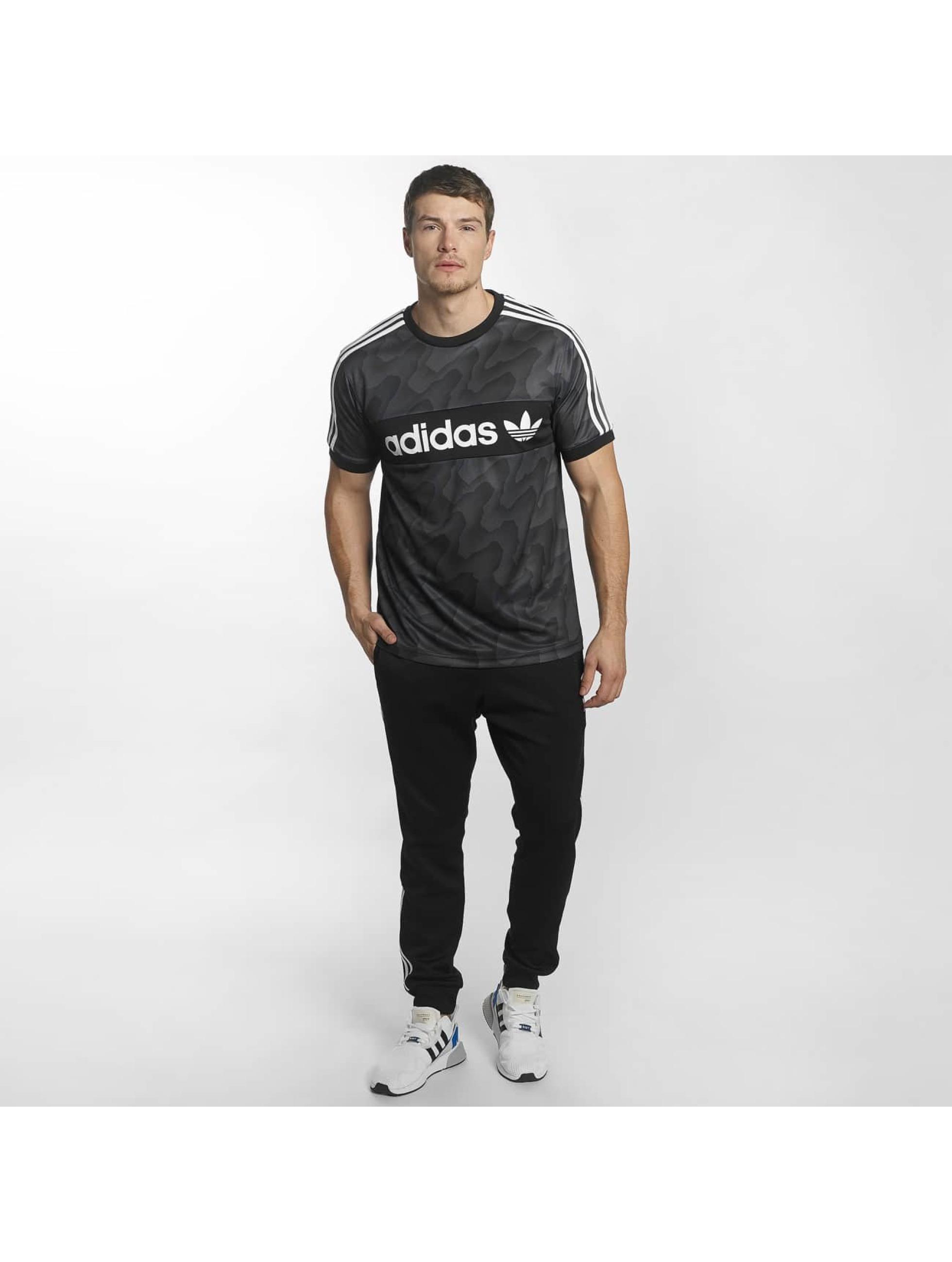 adidas T-Shirt Clima Club schwarz