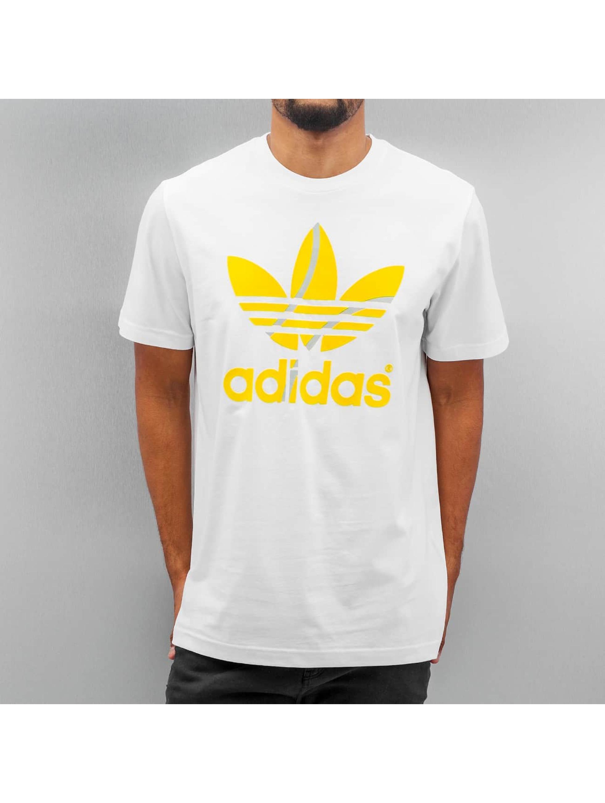 T-Shirt Flock Tennis Ball in weiß
