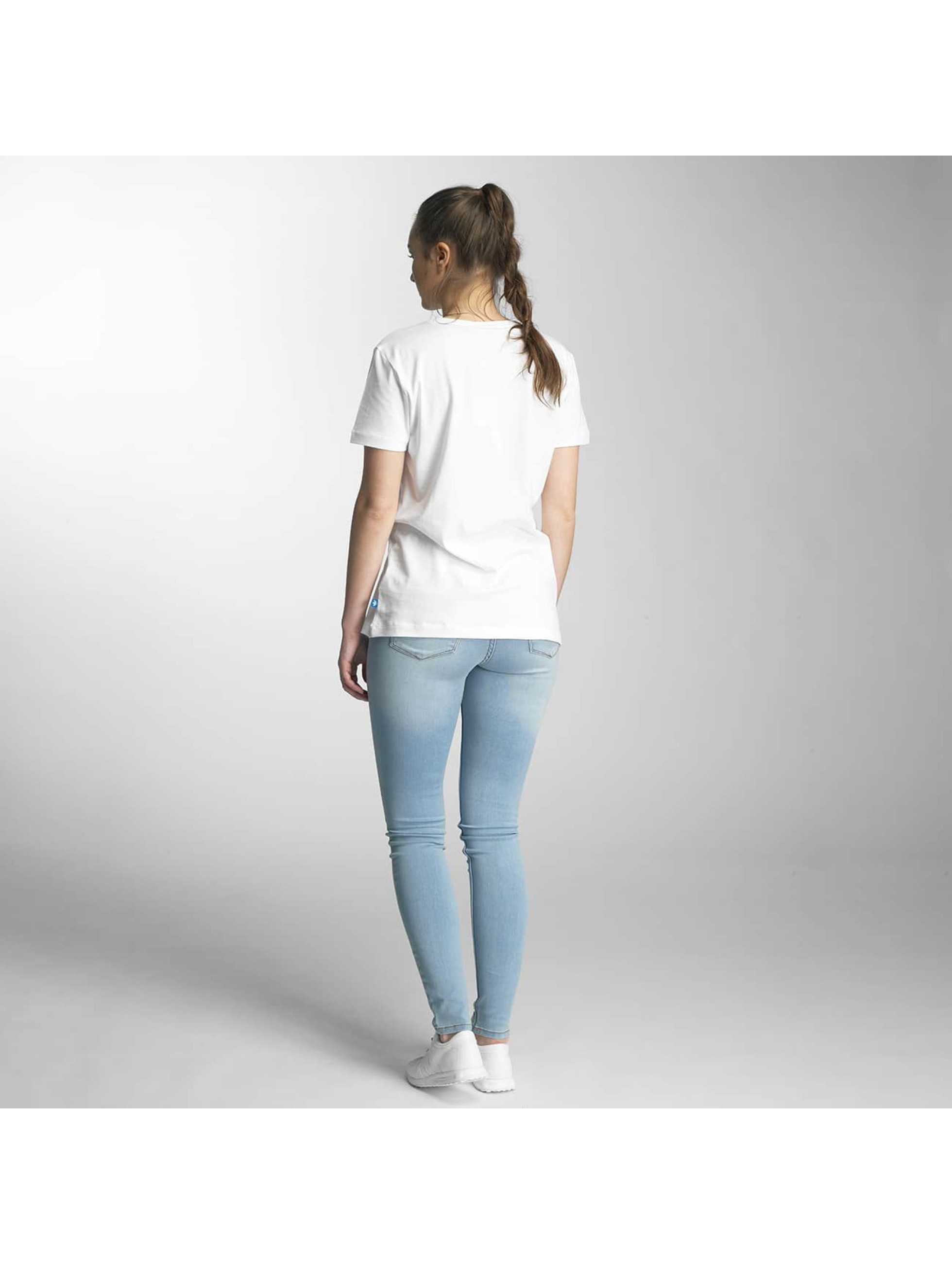 adidas T-Shirt Trefoil weiß