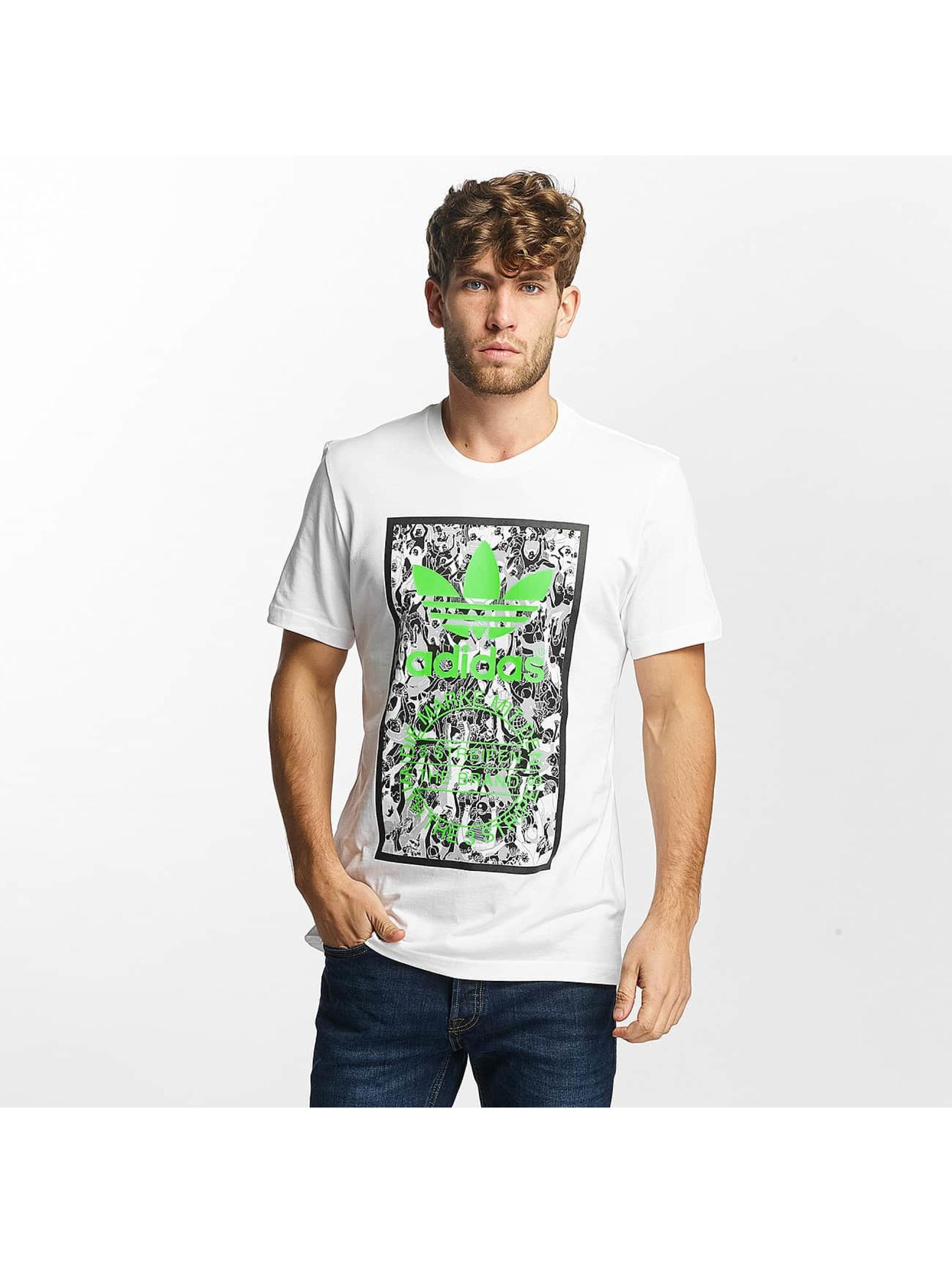 adidas T-Shirt Tongue Label 1 white