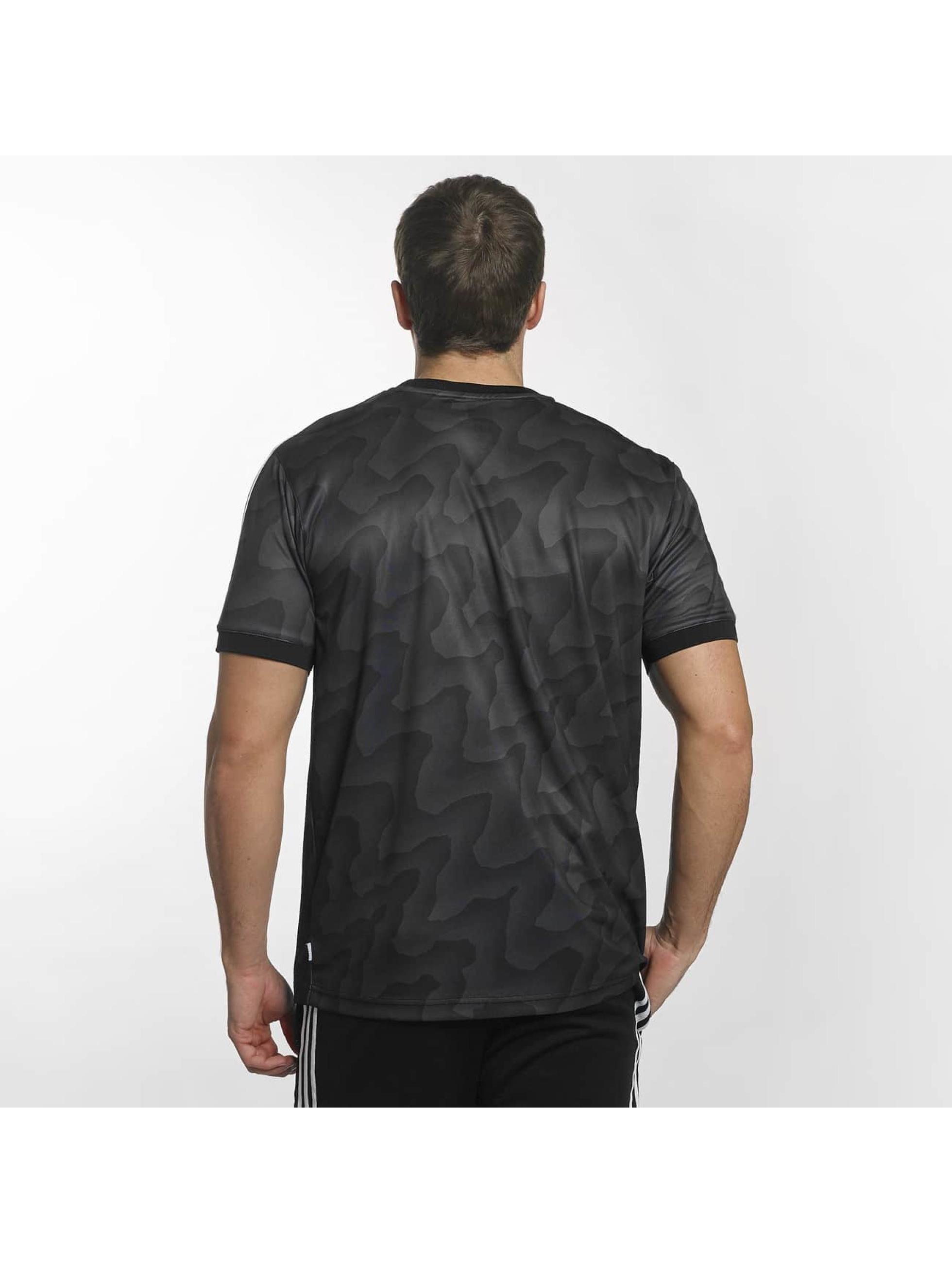 adidas t-shirt Clima Club zwart