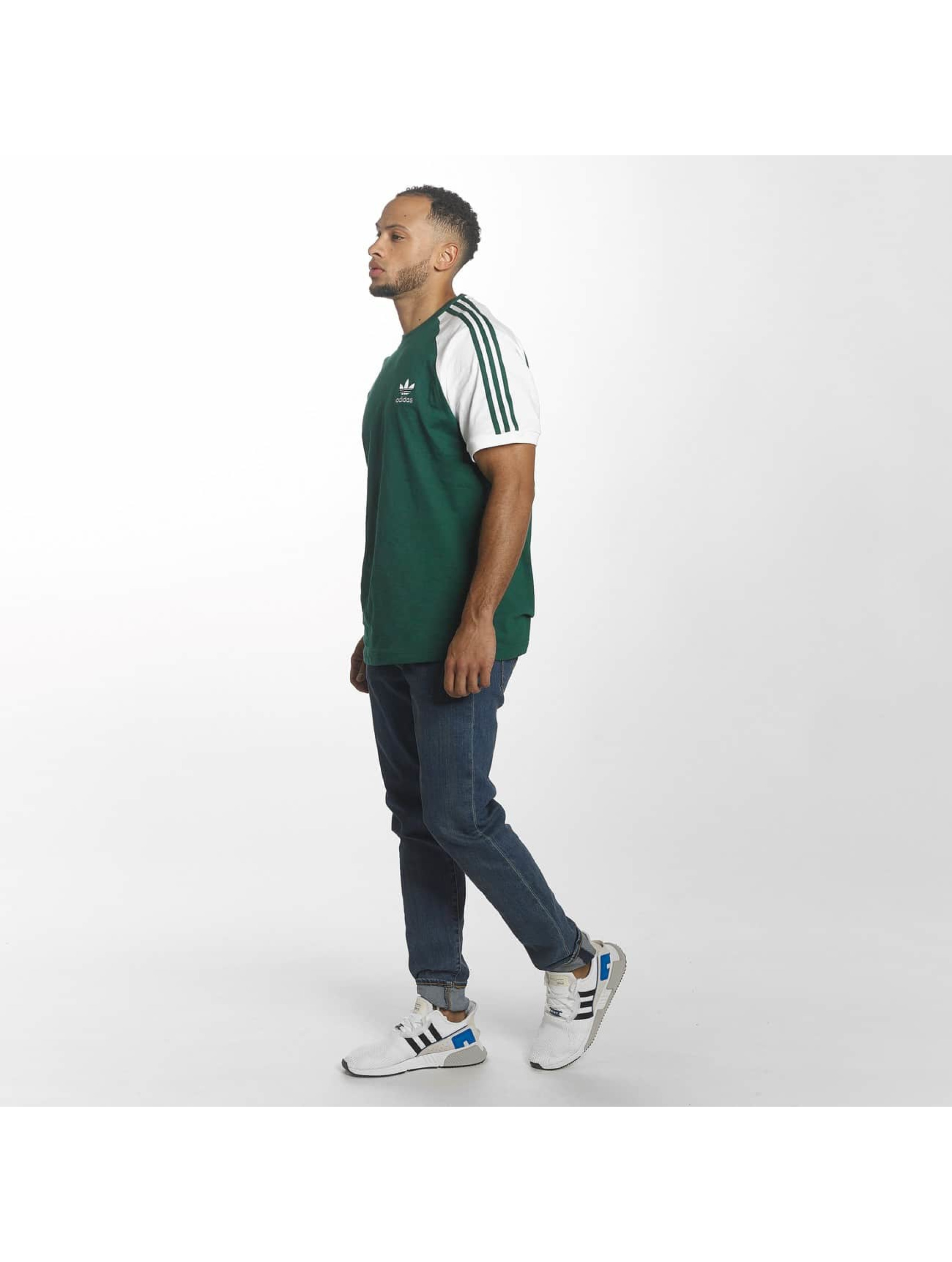 adidas T-shirts 3-Stripes grøn