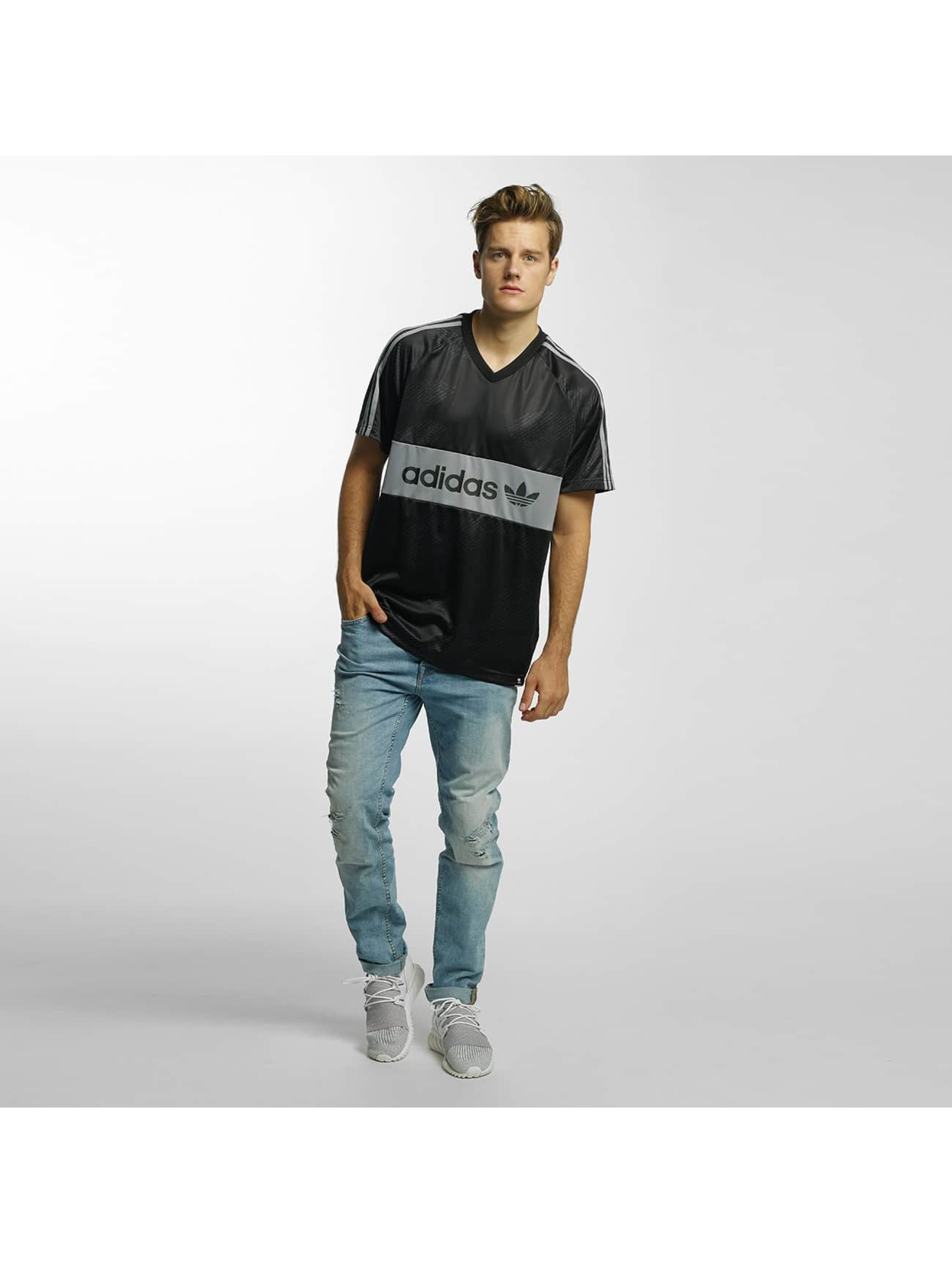 adidas T-shirts Jersey Word Camo sort