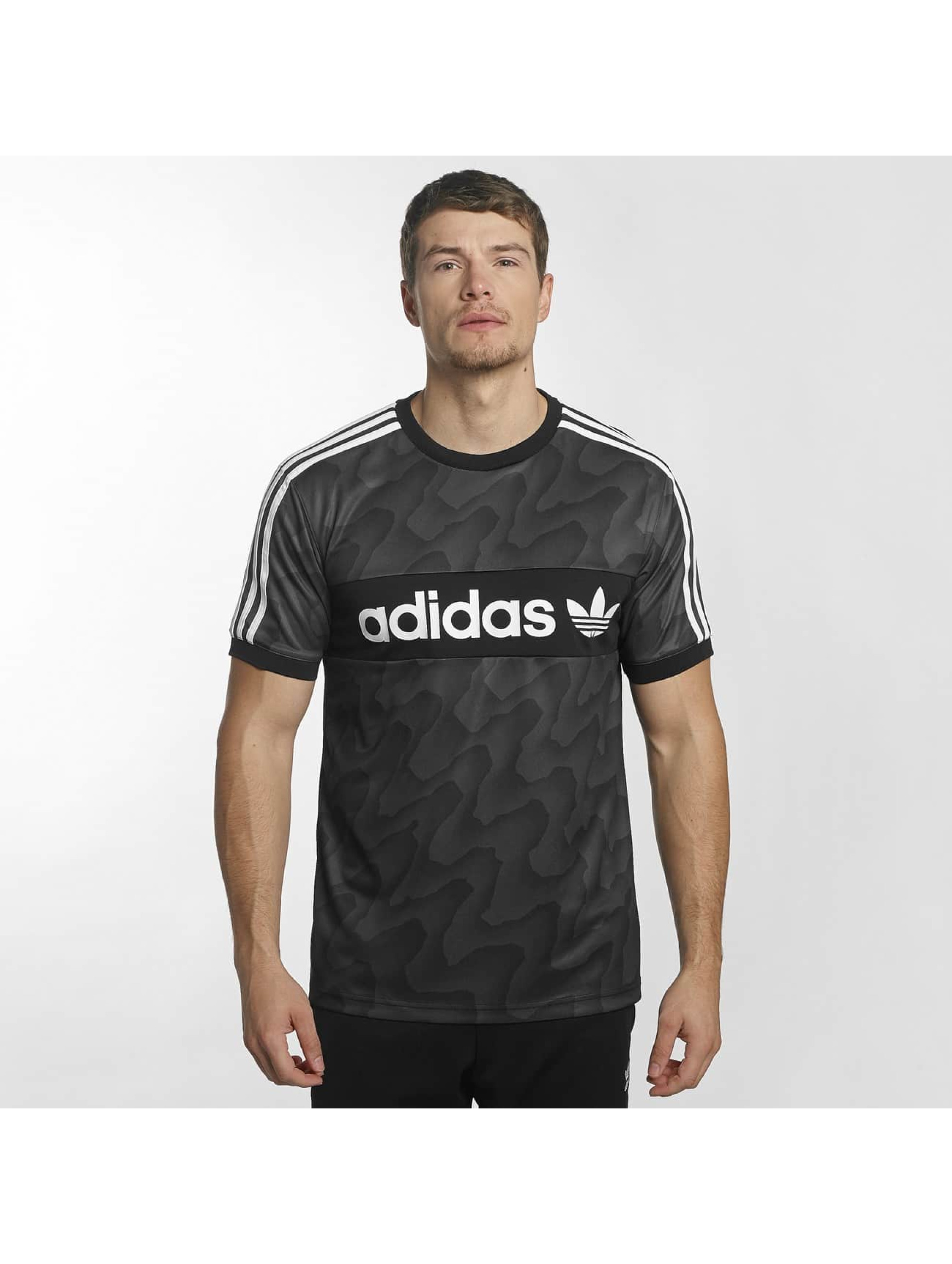 adidas T-shirts Clima Club sort