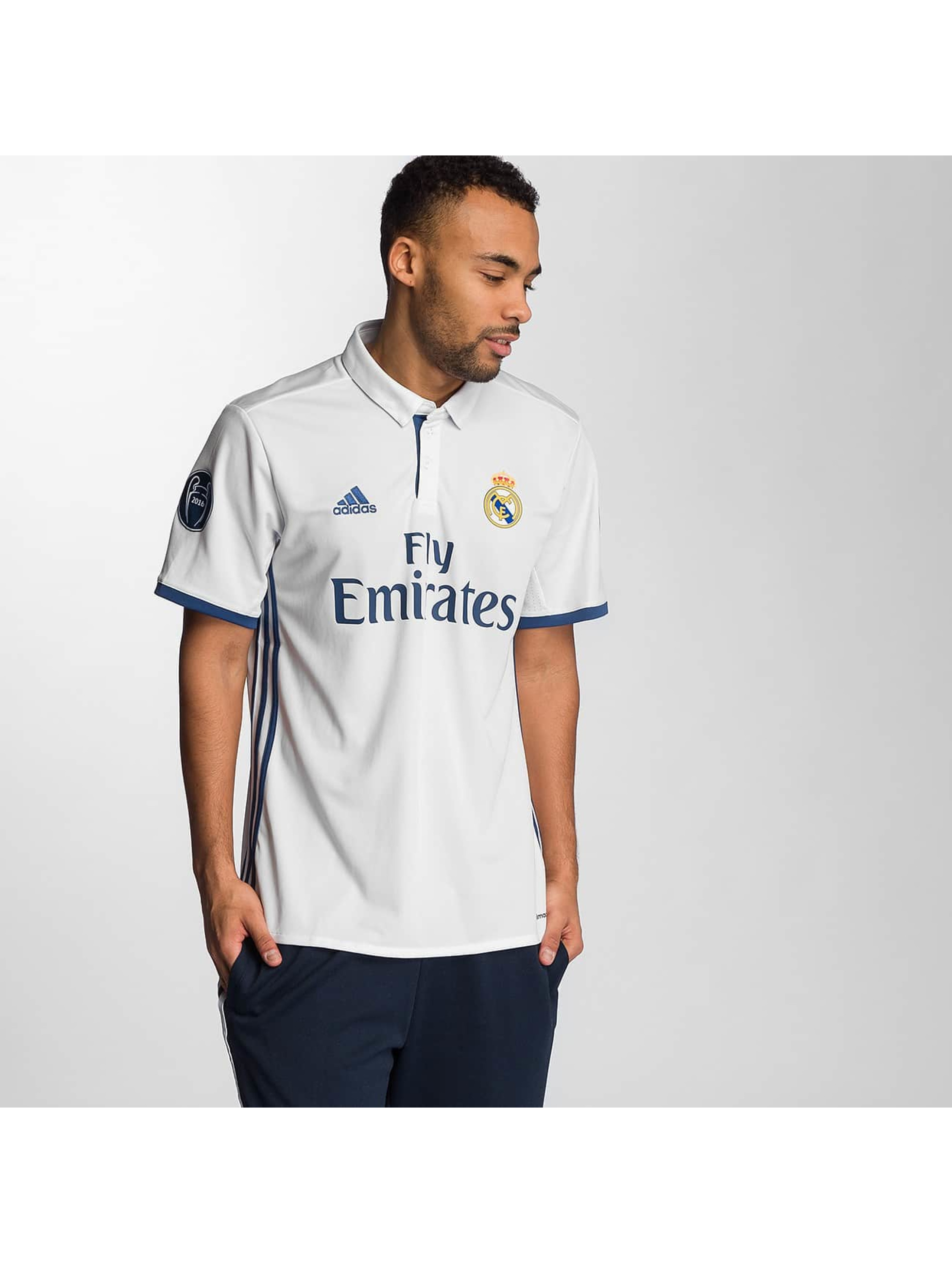 adidas T-Shirty Real Madrid bialy