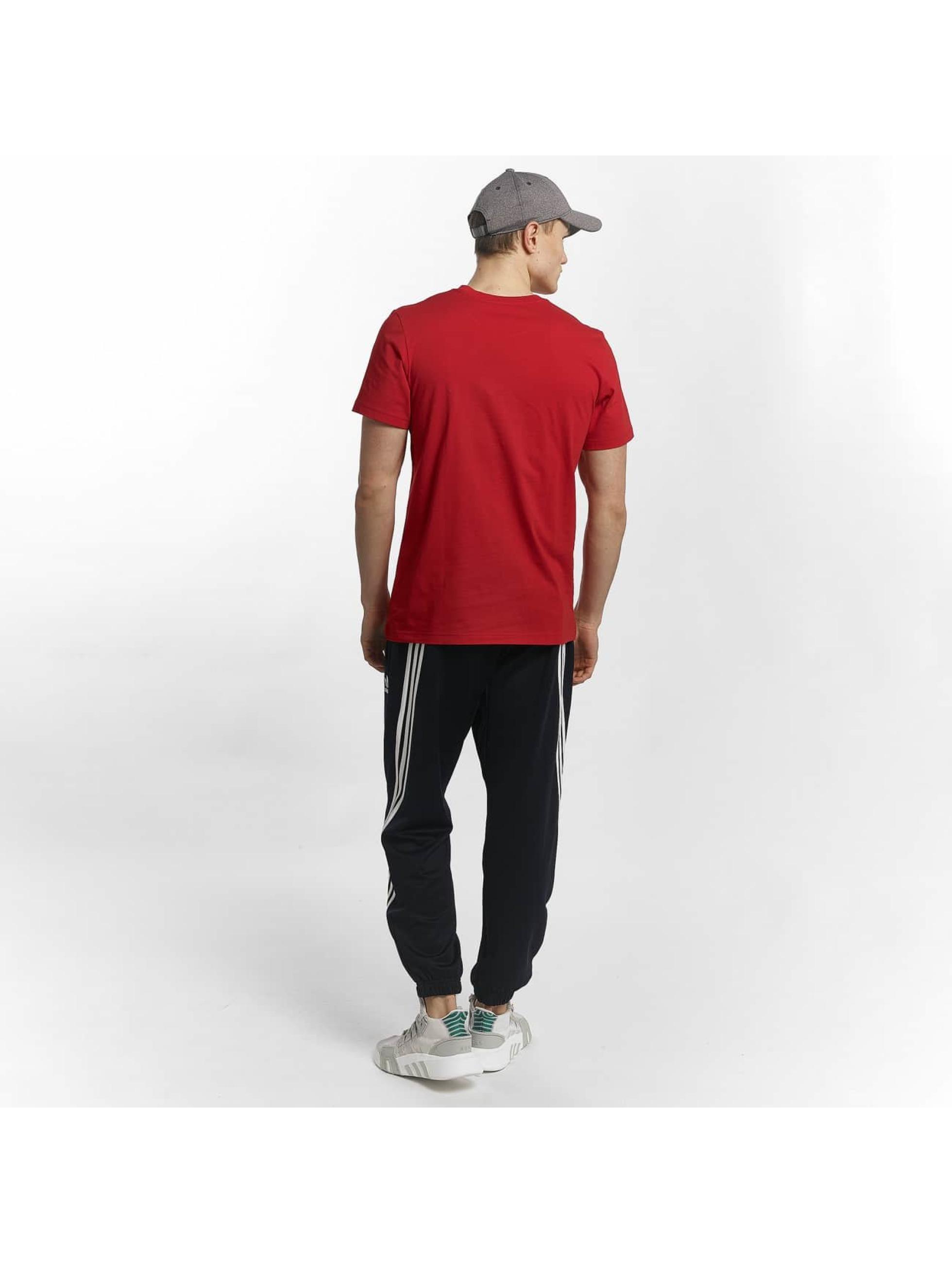 adidas T-Shirty Traction Tongue czerwony