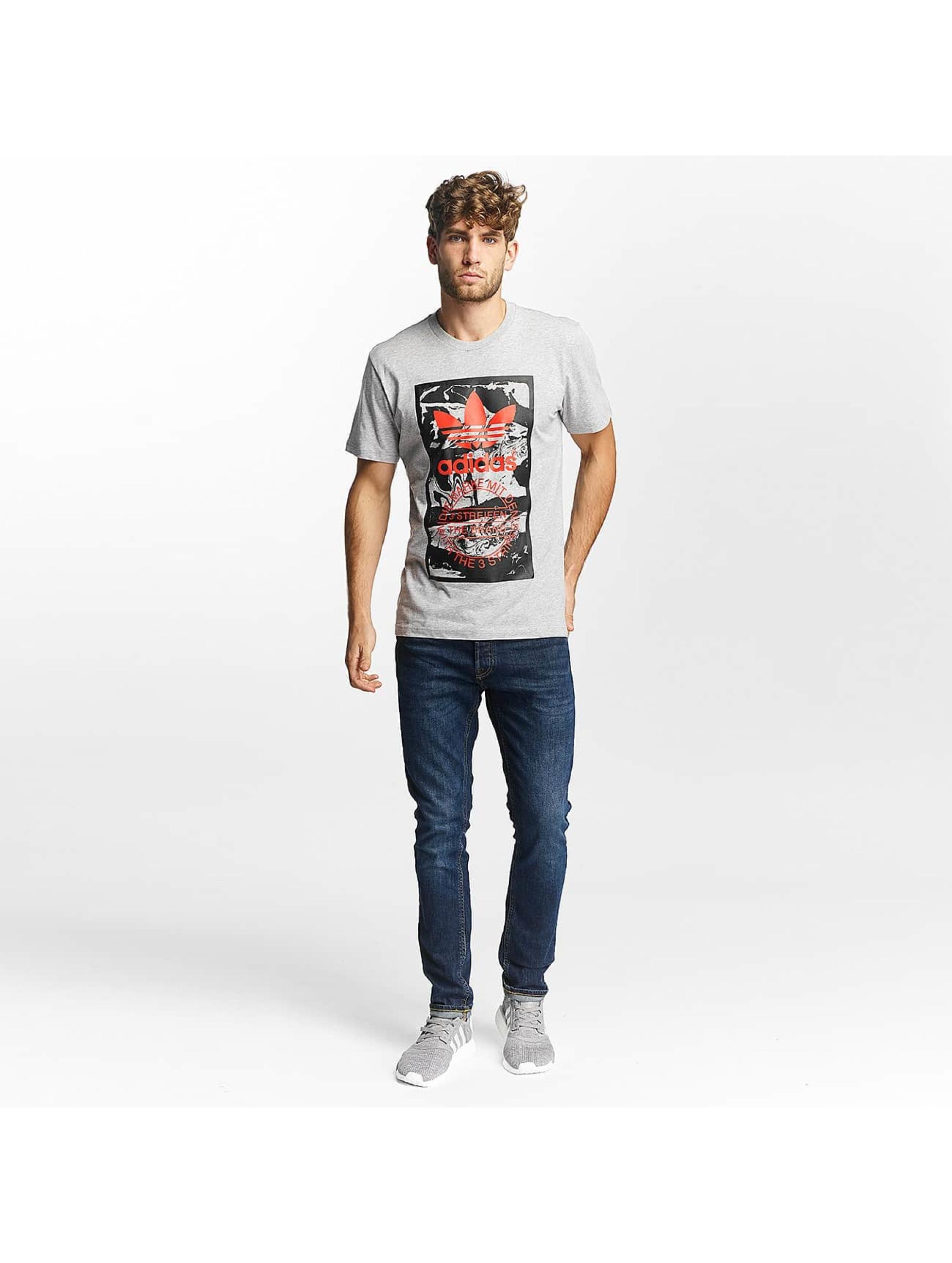 adidas T-skjorter Tongue Label 2 grå