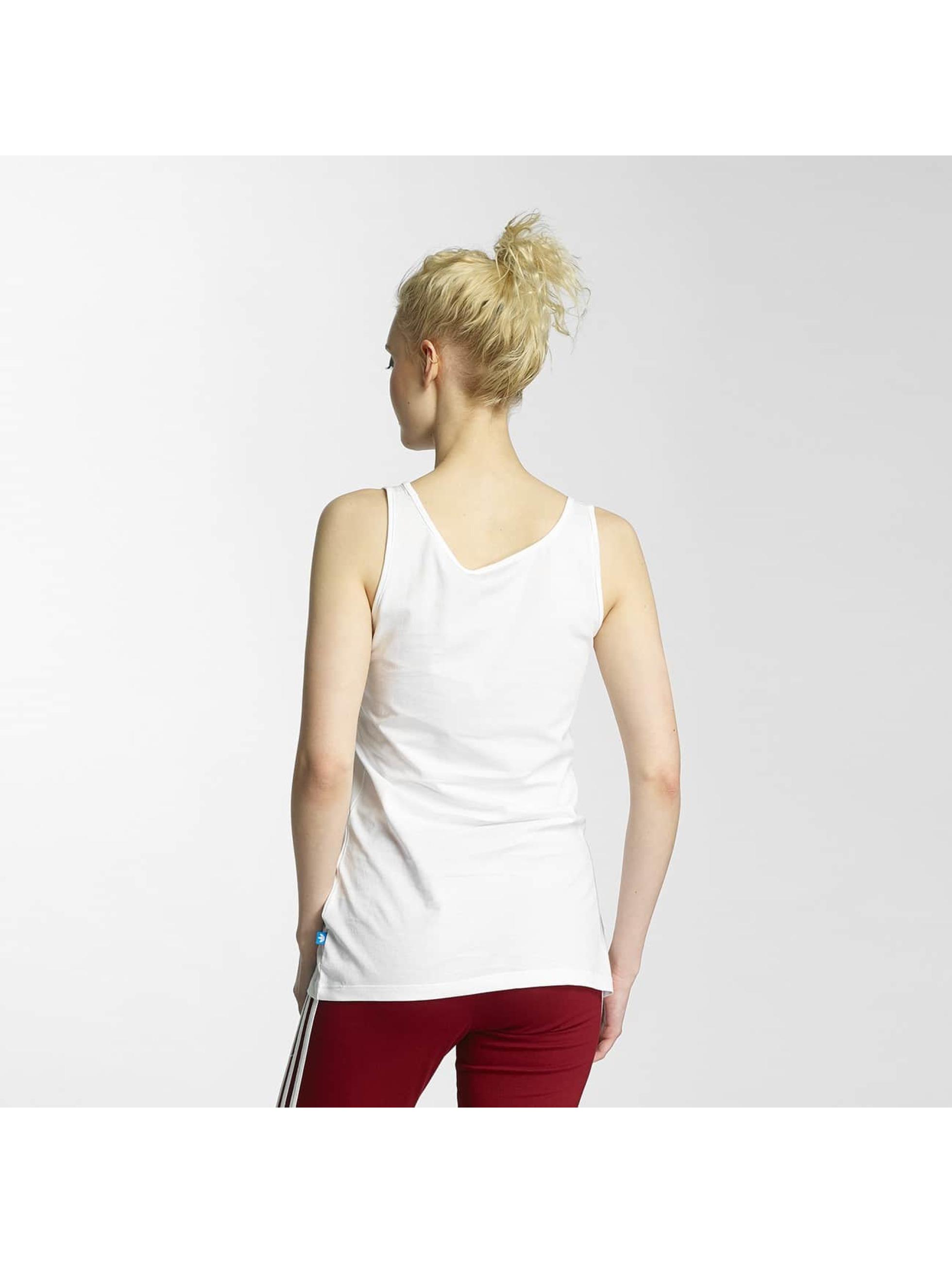 adidas Tank Tops Trefoil biela