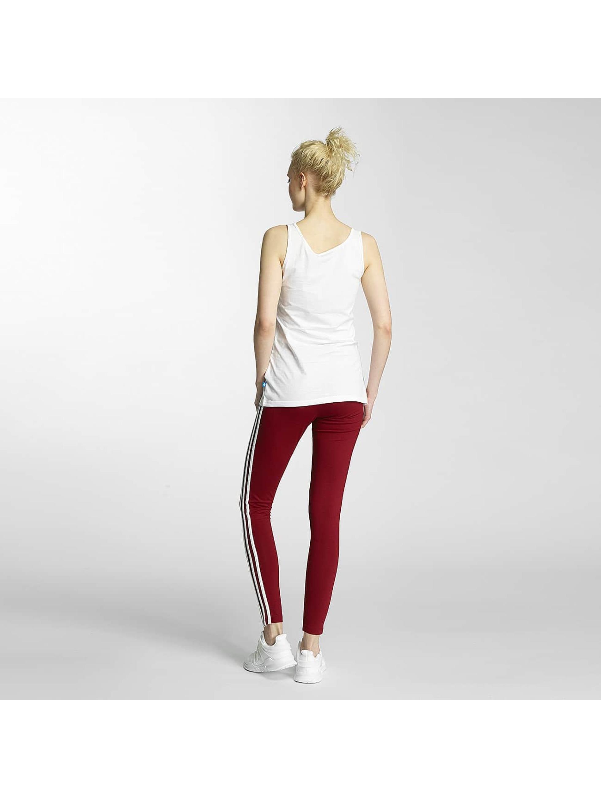adidas Tank Tops Trefoil white