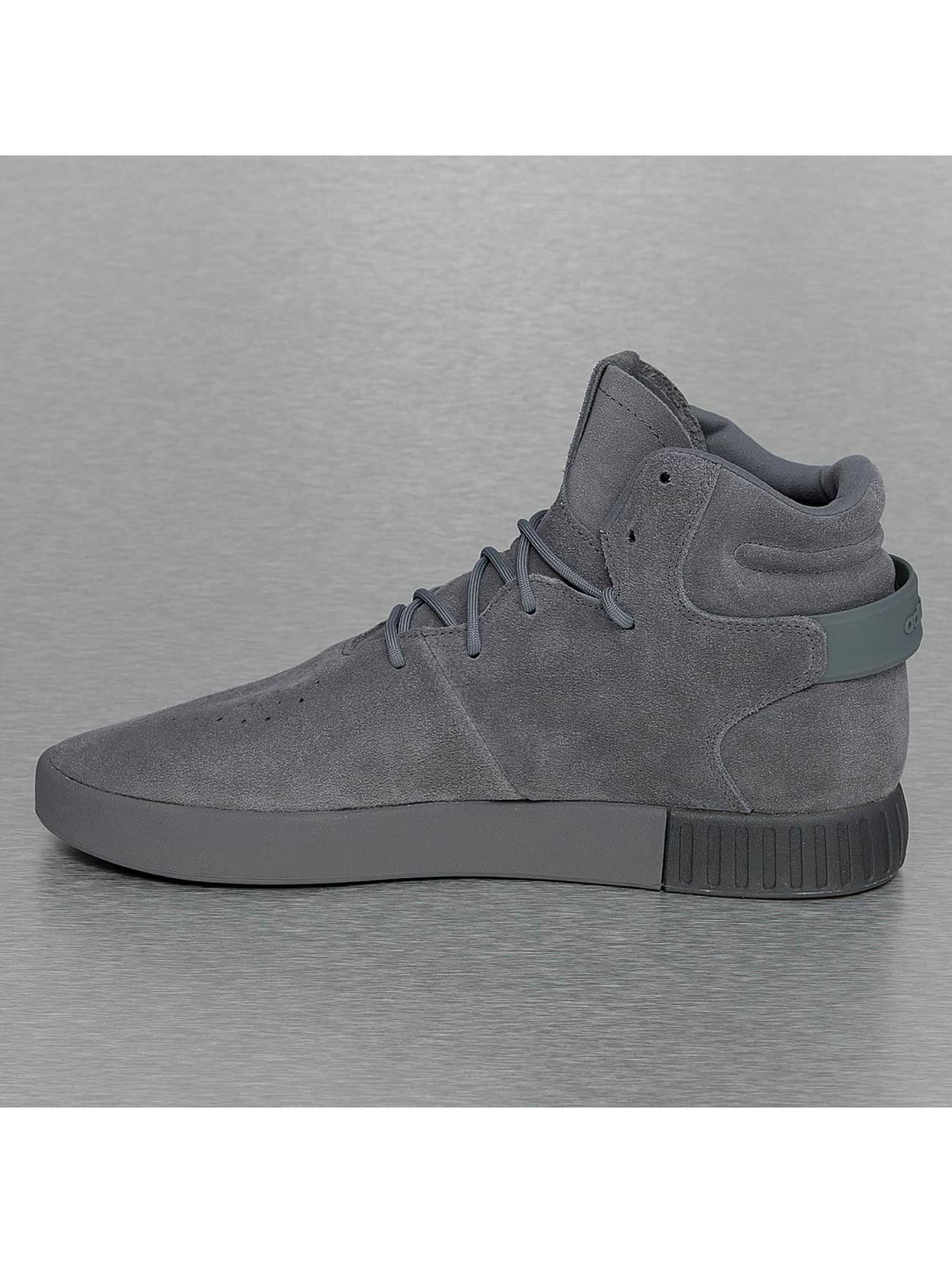 adidas Tennarit Tubular Invader harmaa