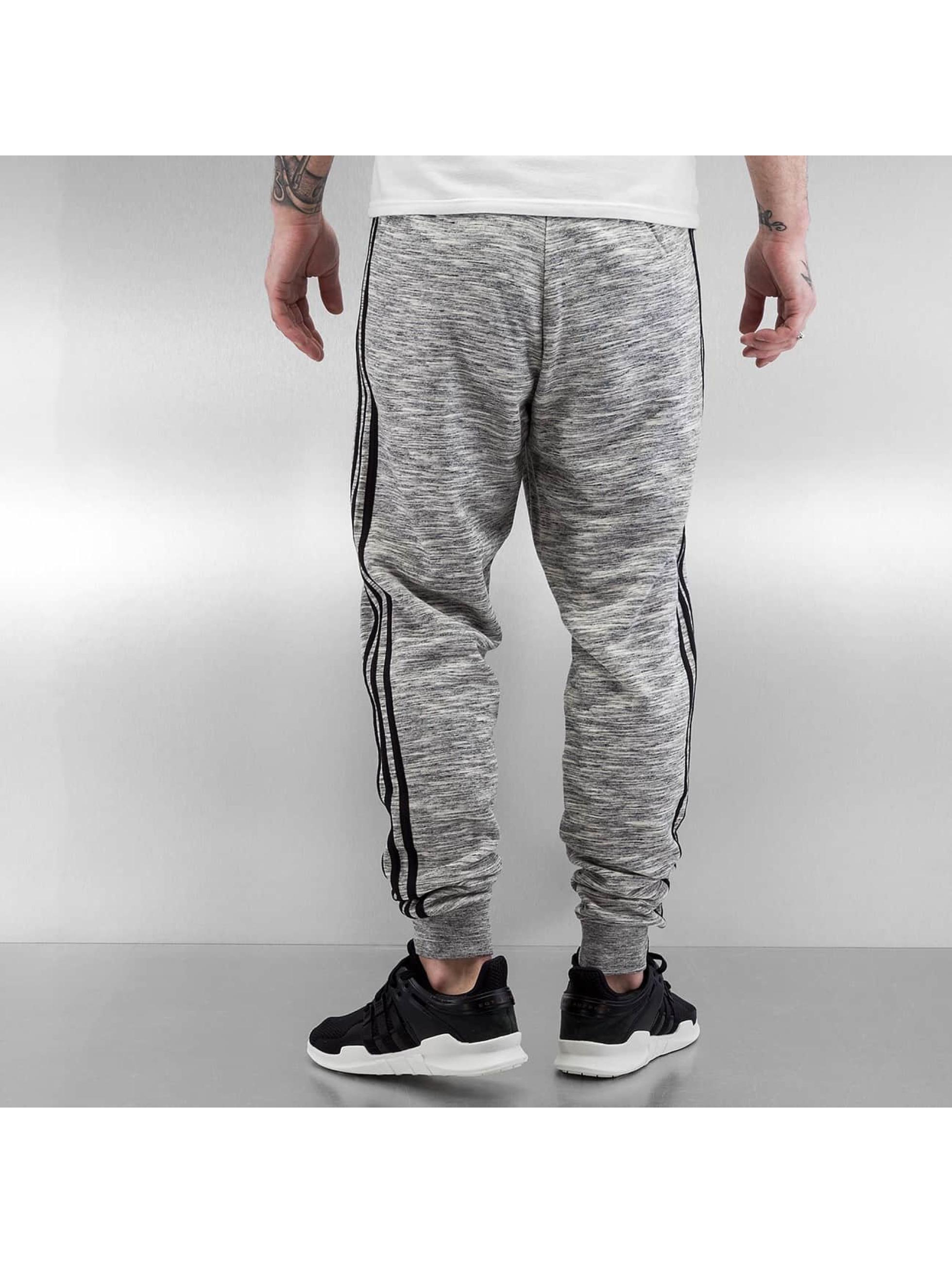 adidas tepláky CLFN French Terry šedá