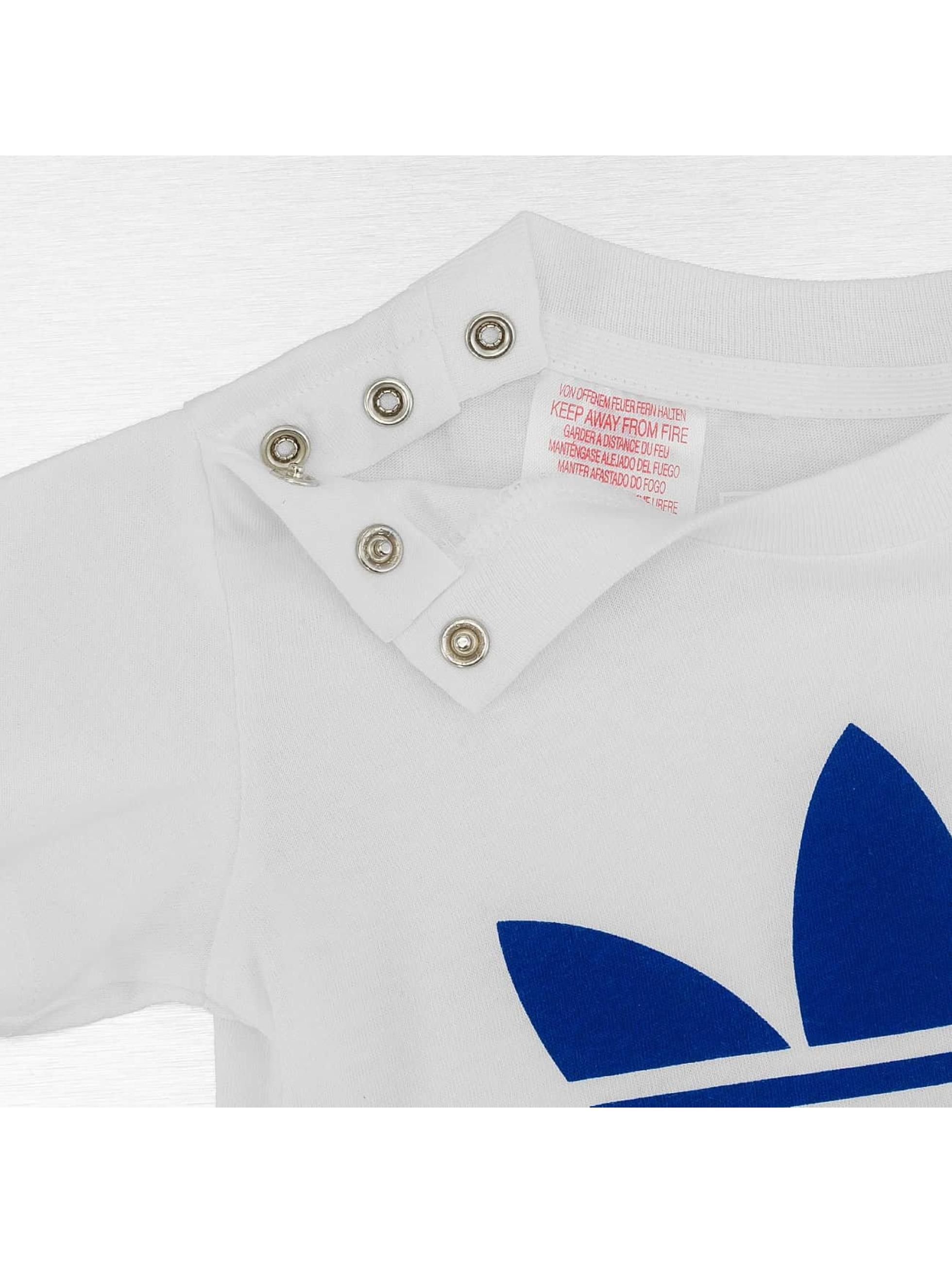 adidas Tričká Trefoil biela
