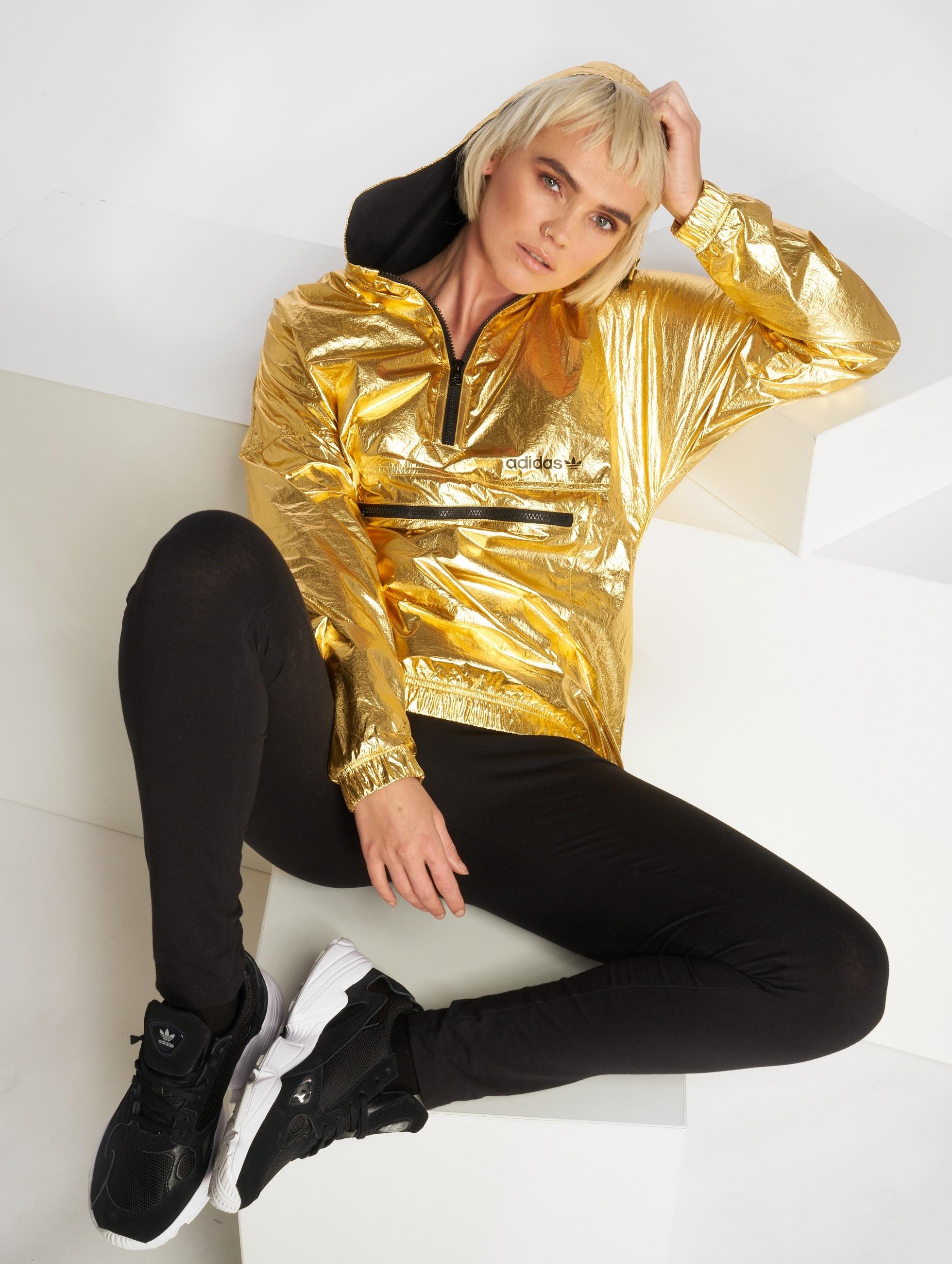 adidas Übergangsjacke Golden goldfarben