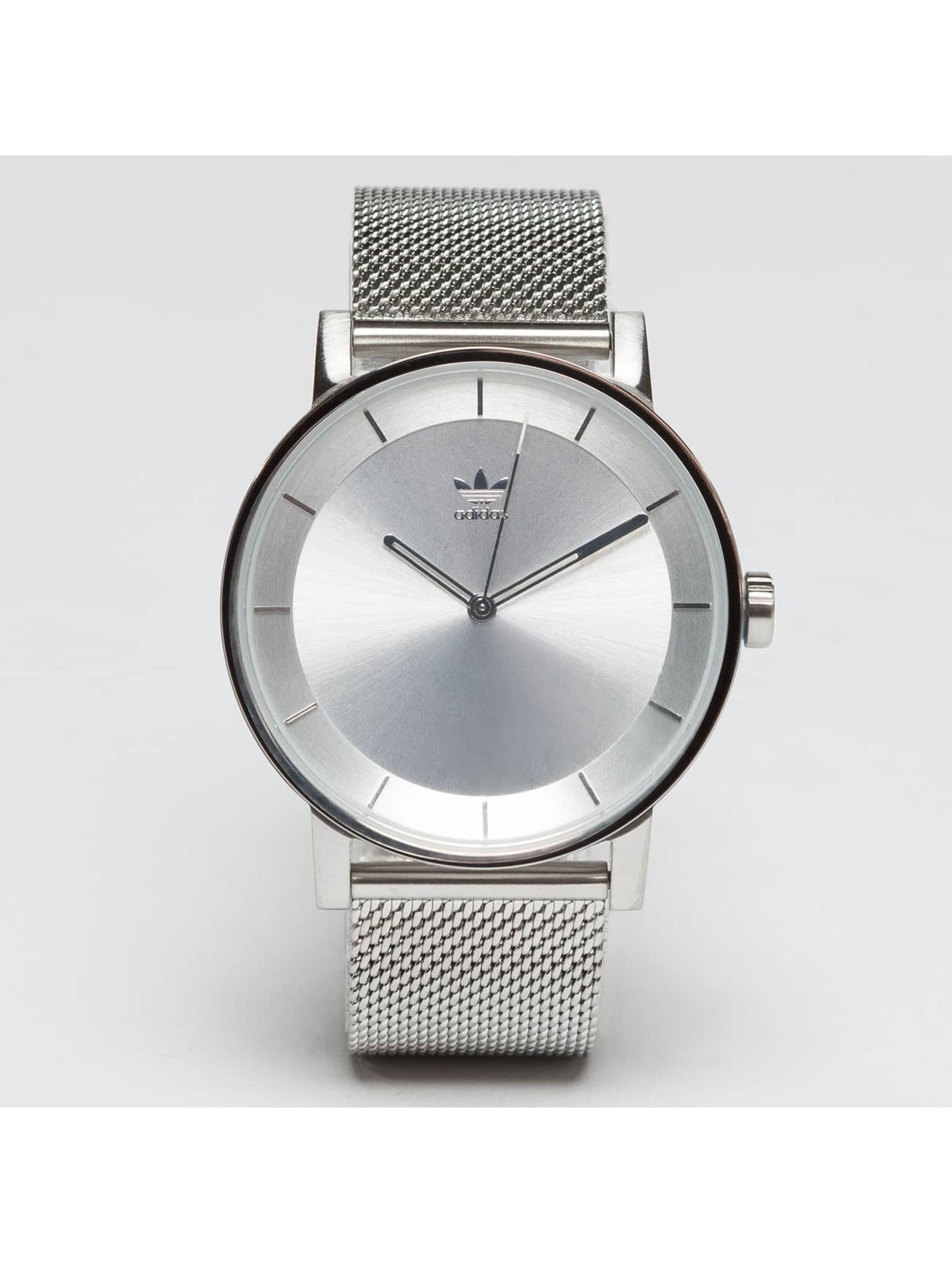 Adidas Watches Uhr District M1 silberfarben
