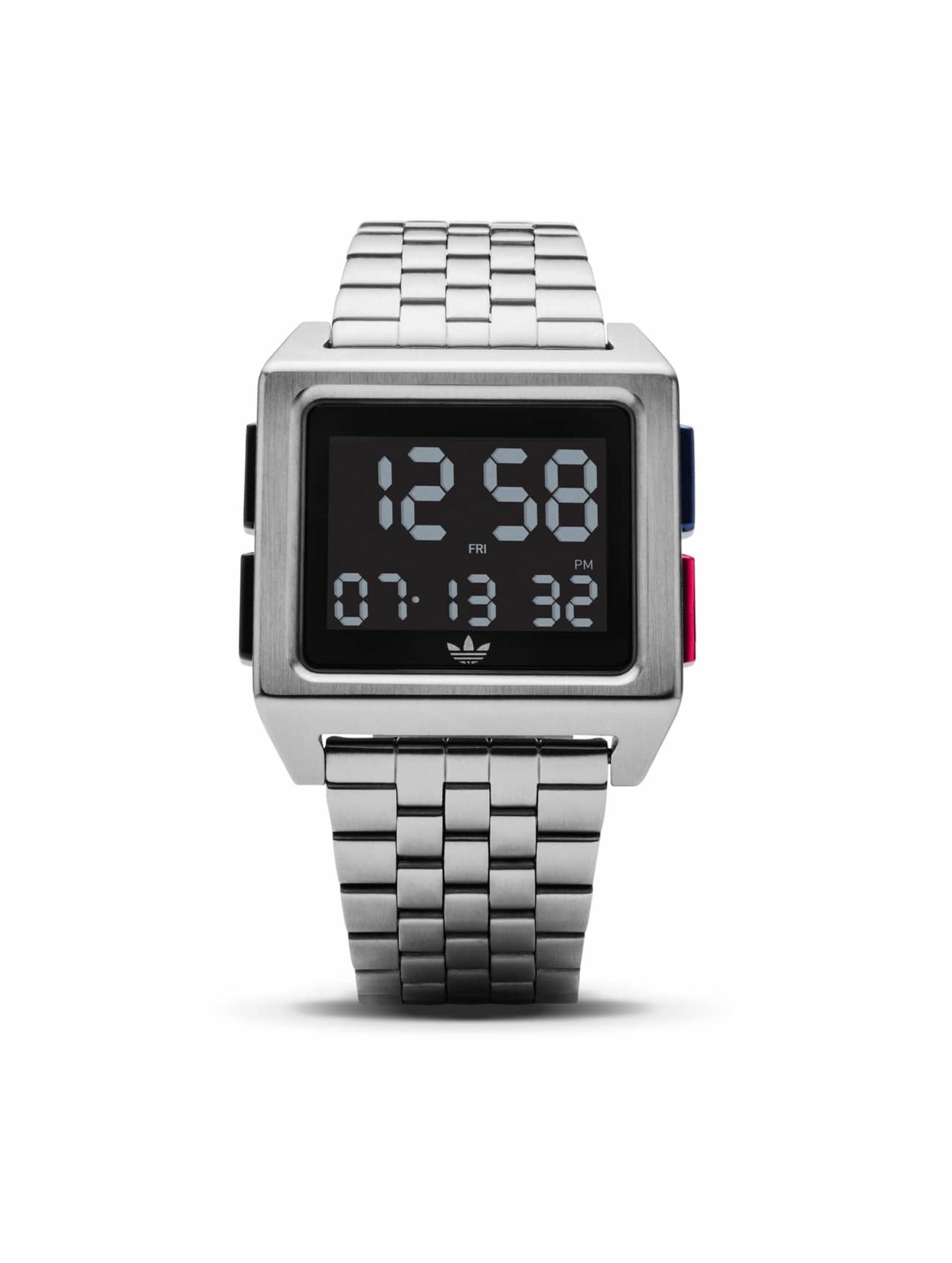 Adidas Watches Uhr Archive M1 silberfarben