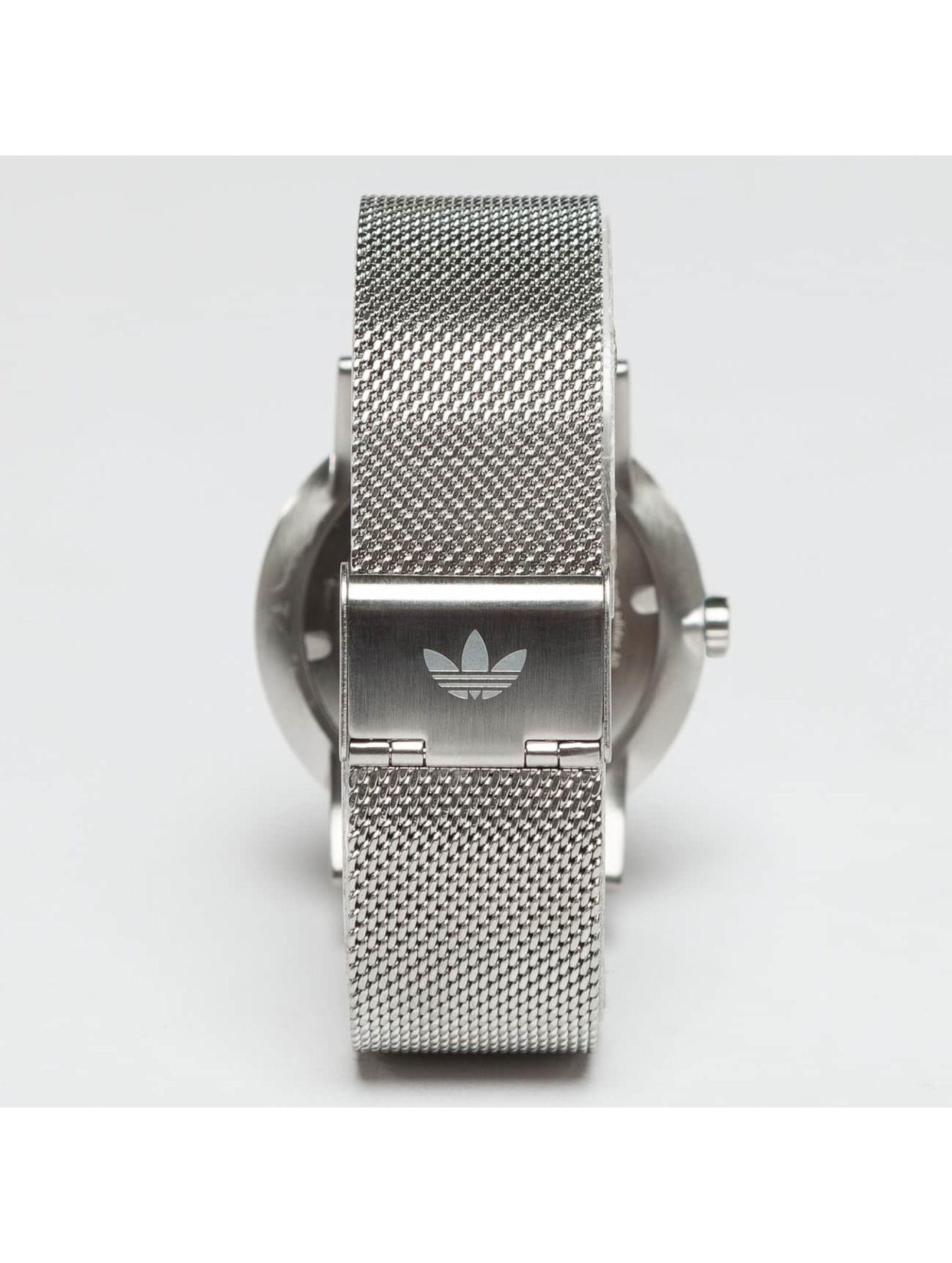 Adidas Watches Zegarki District M1 srebrny