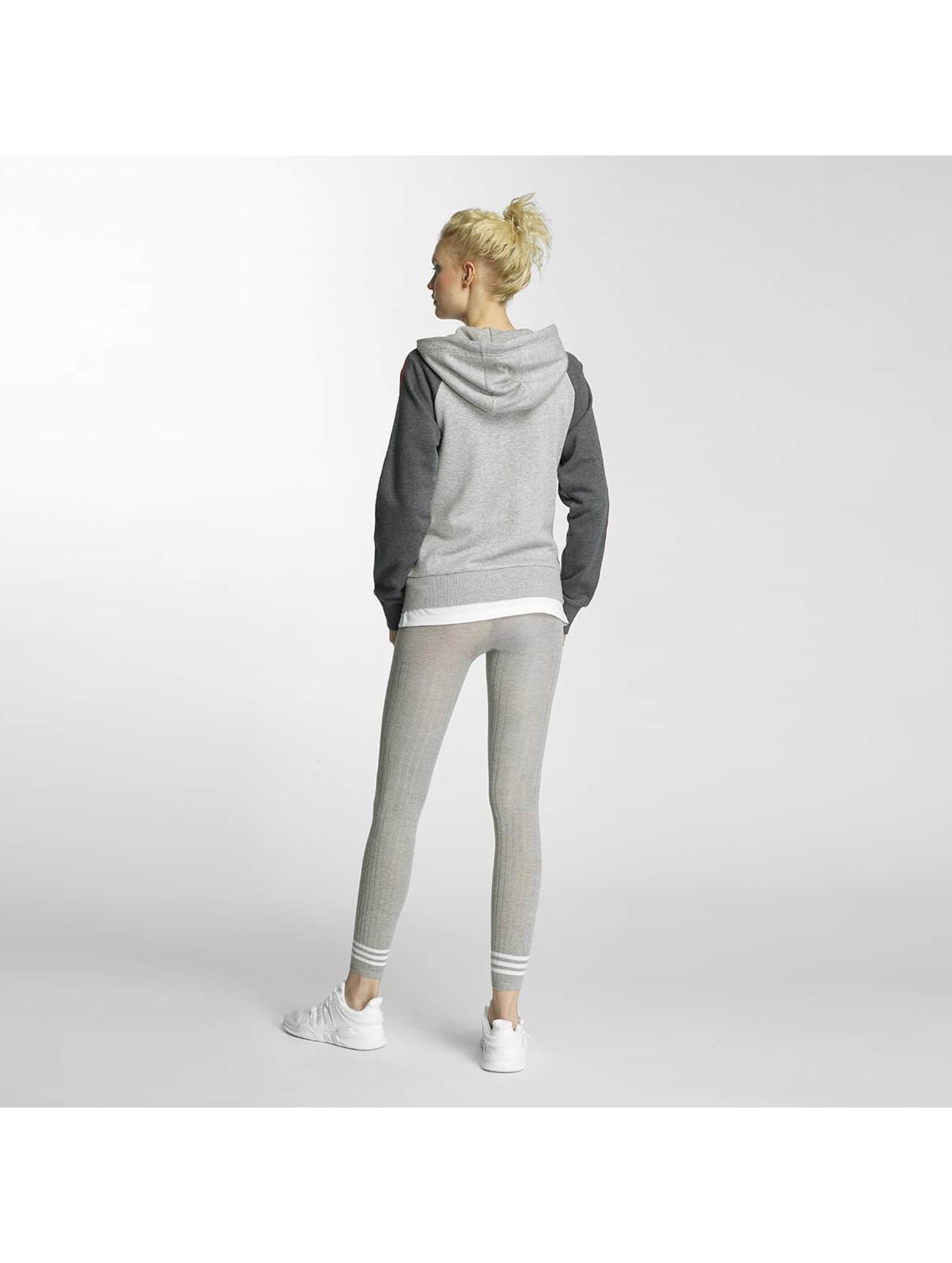 adidas Zip Hoodie Girly šedá