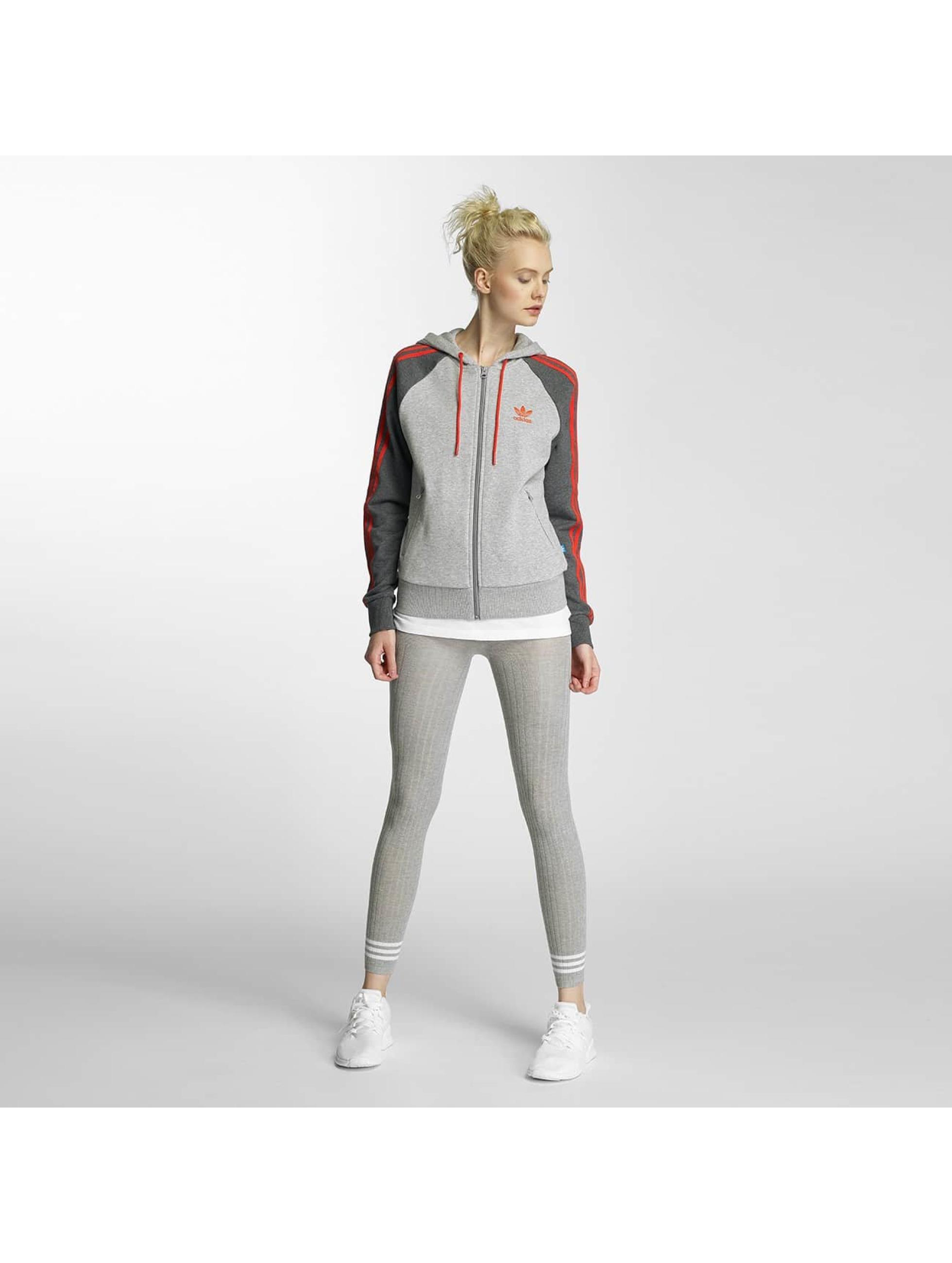 adidas Zip Hoodie Girly grey