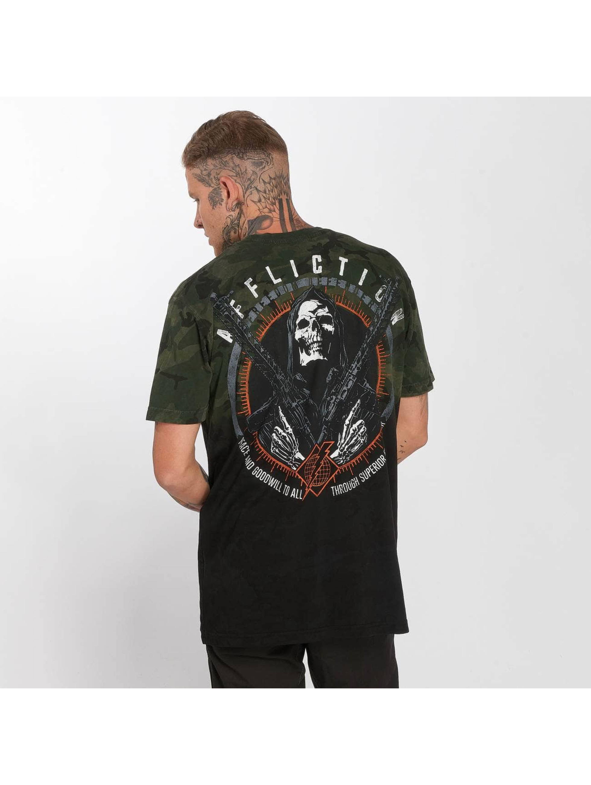 Affliction T-Shirt Assault camouflage