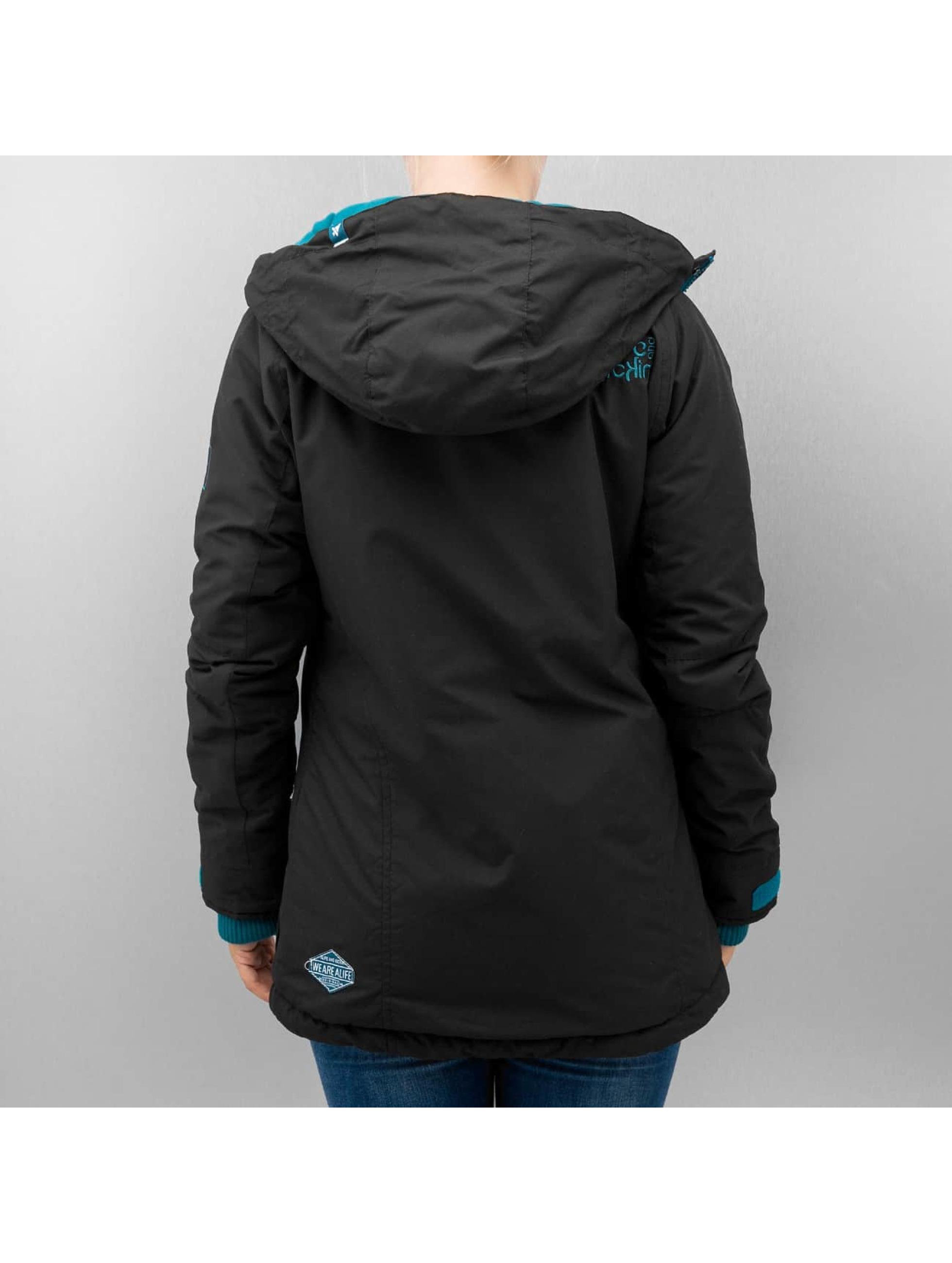 Alife & Kickin Зимняя куртка Emma черный