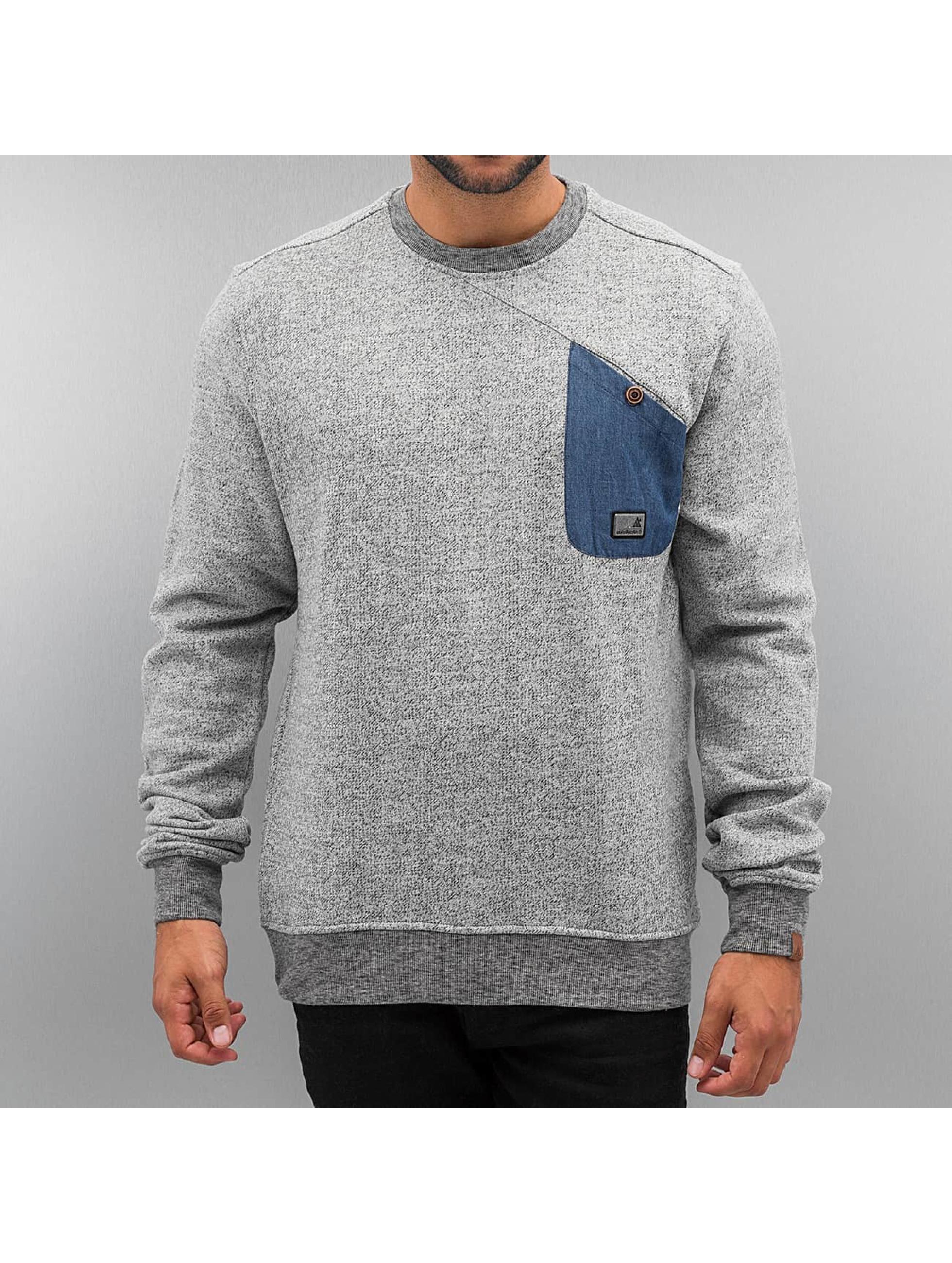 Alife & Kickin Пуловер Vincent серый