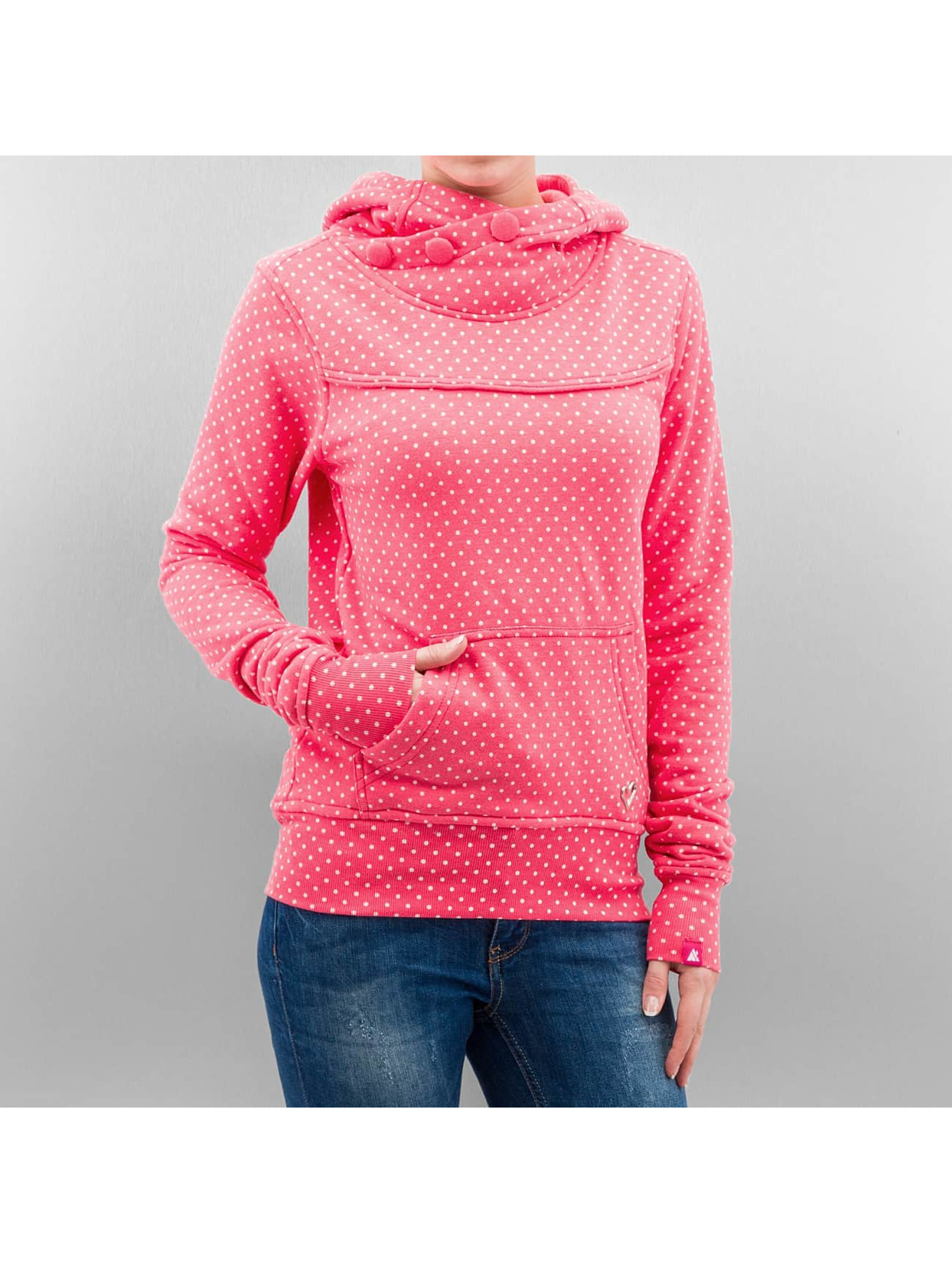 Alife & Kickin Bluzy z kapturem Lara pink
