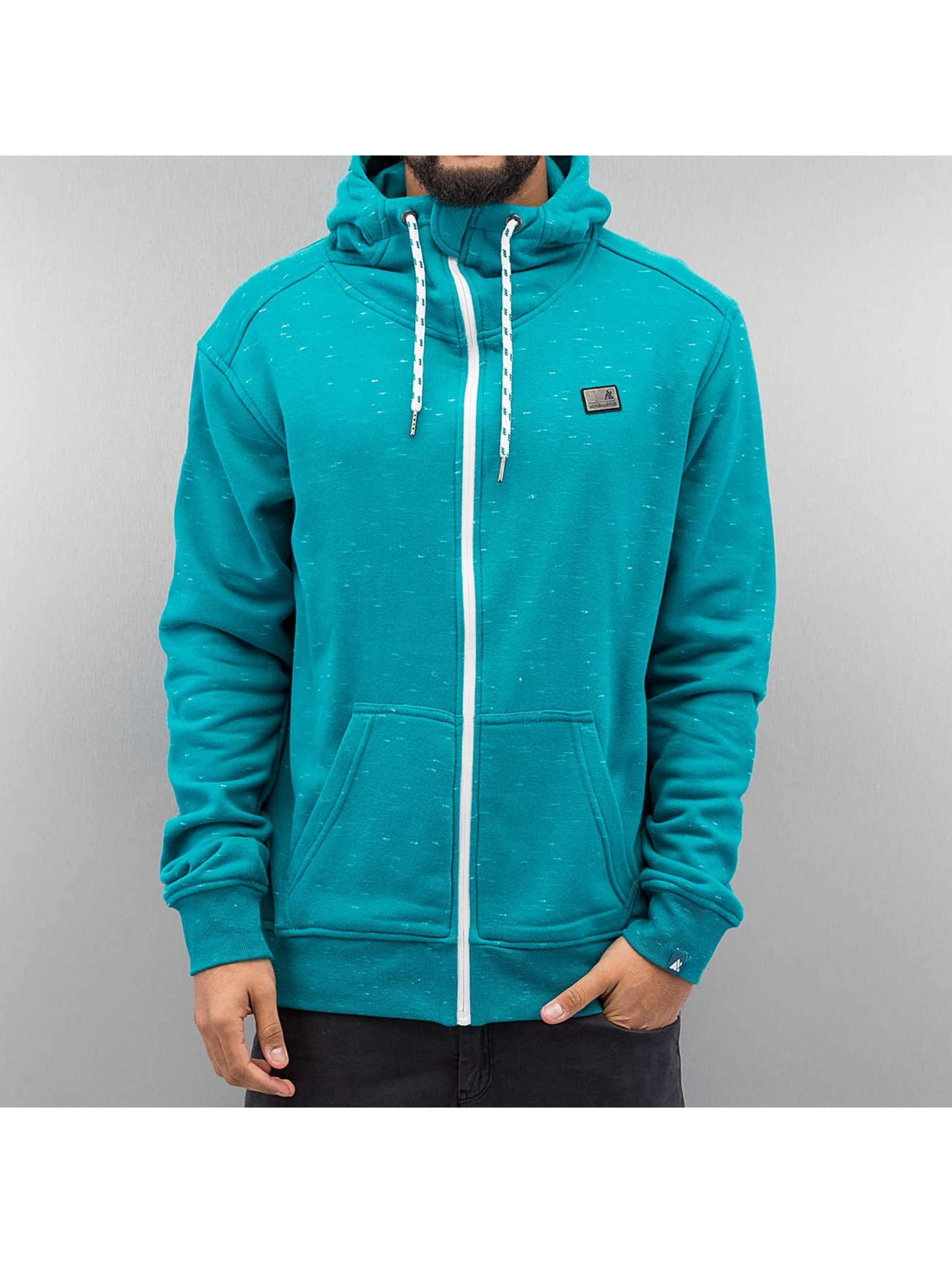 Alife & Kickin Hoodies con zip Trasher blu